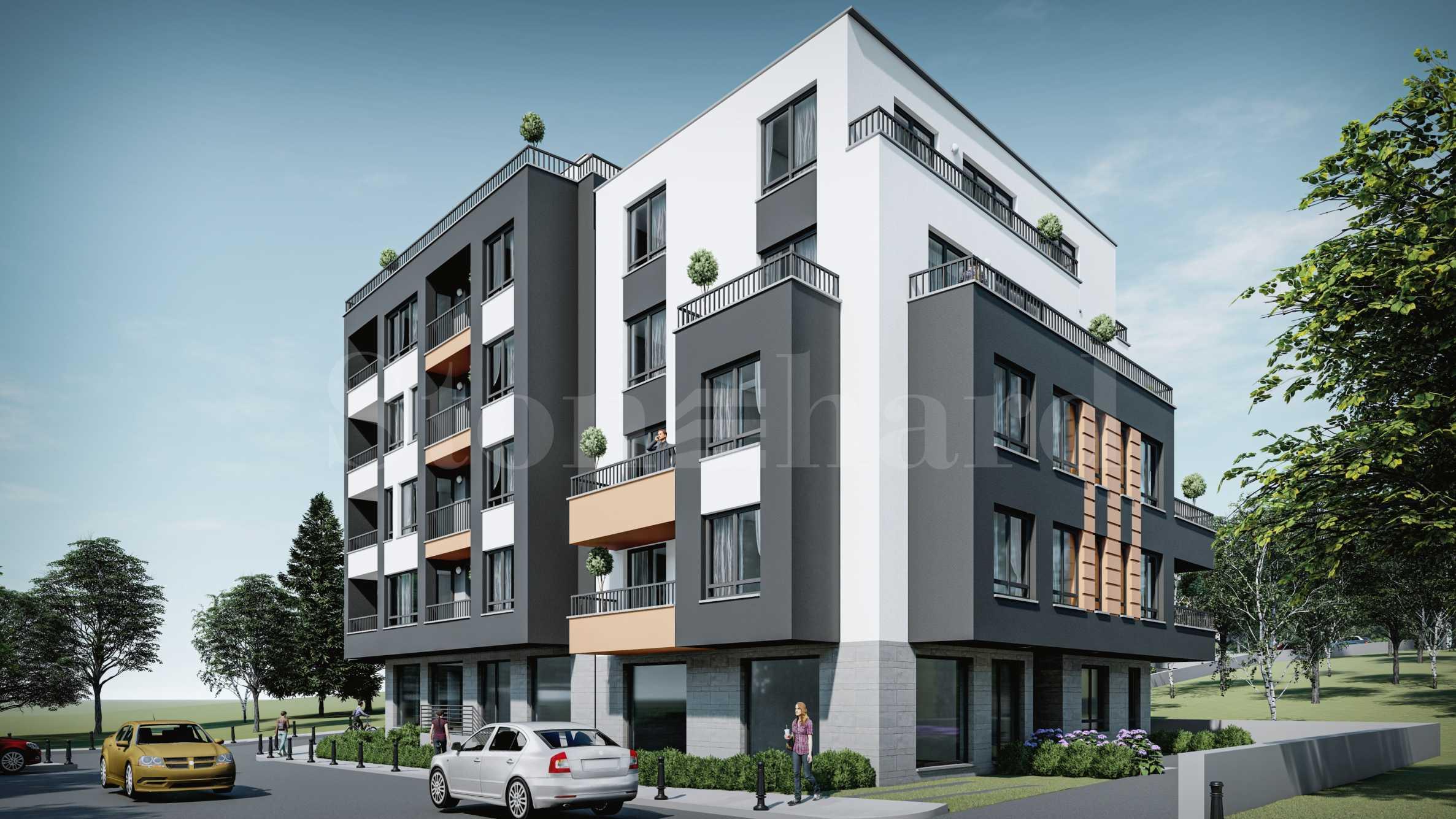 Атрактивни нови жилища в жилищна сграда в столичния кв. Дианабад2 - Stonehard