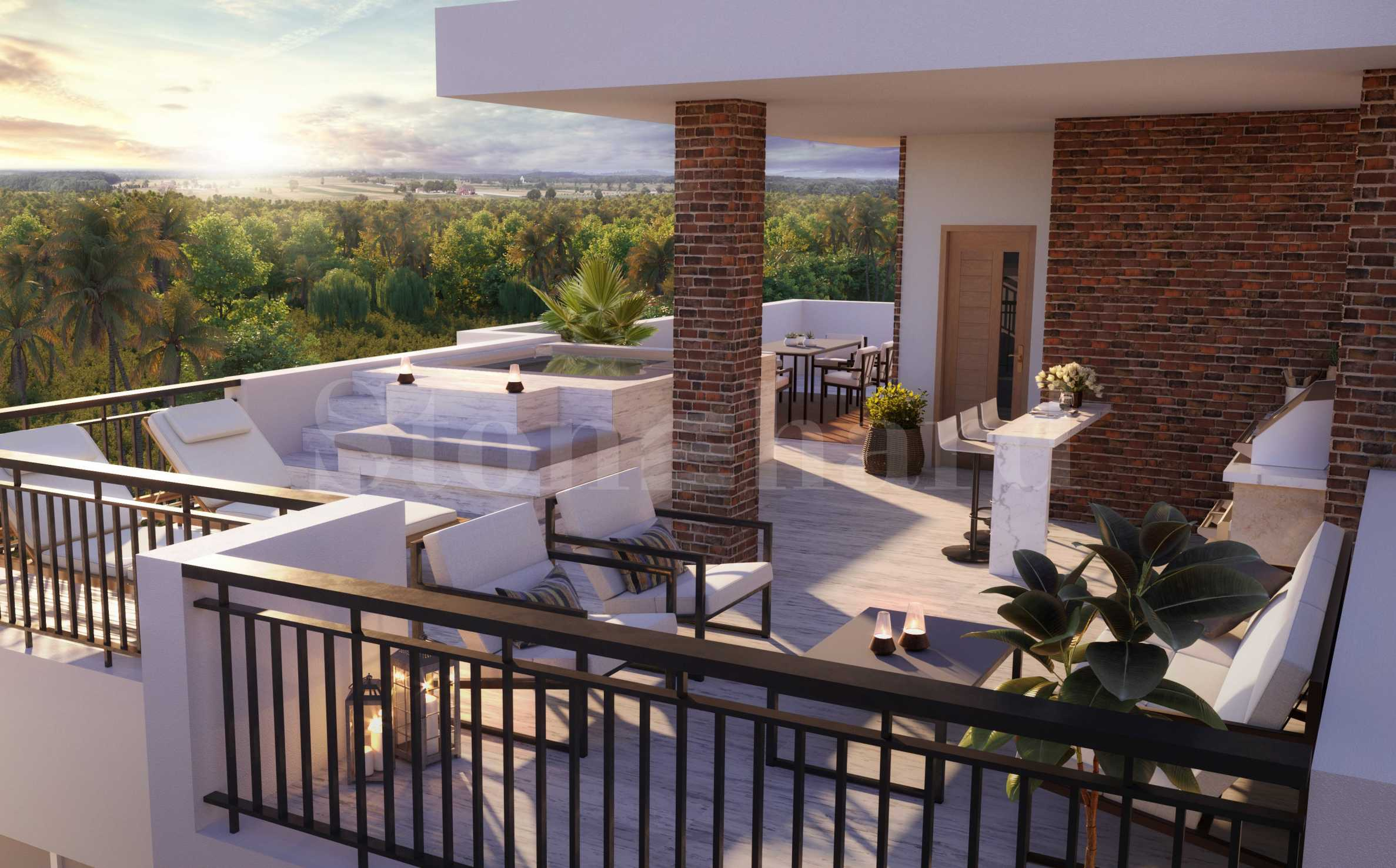 Tropical investment in Mediterranean-style complex few steps from the beach in Bavaro2 - Stonehard
