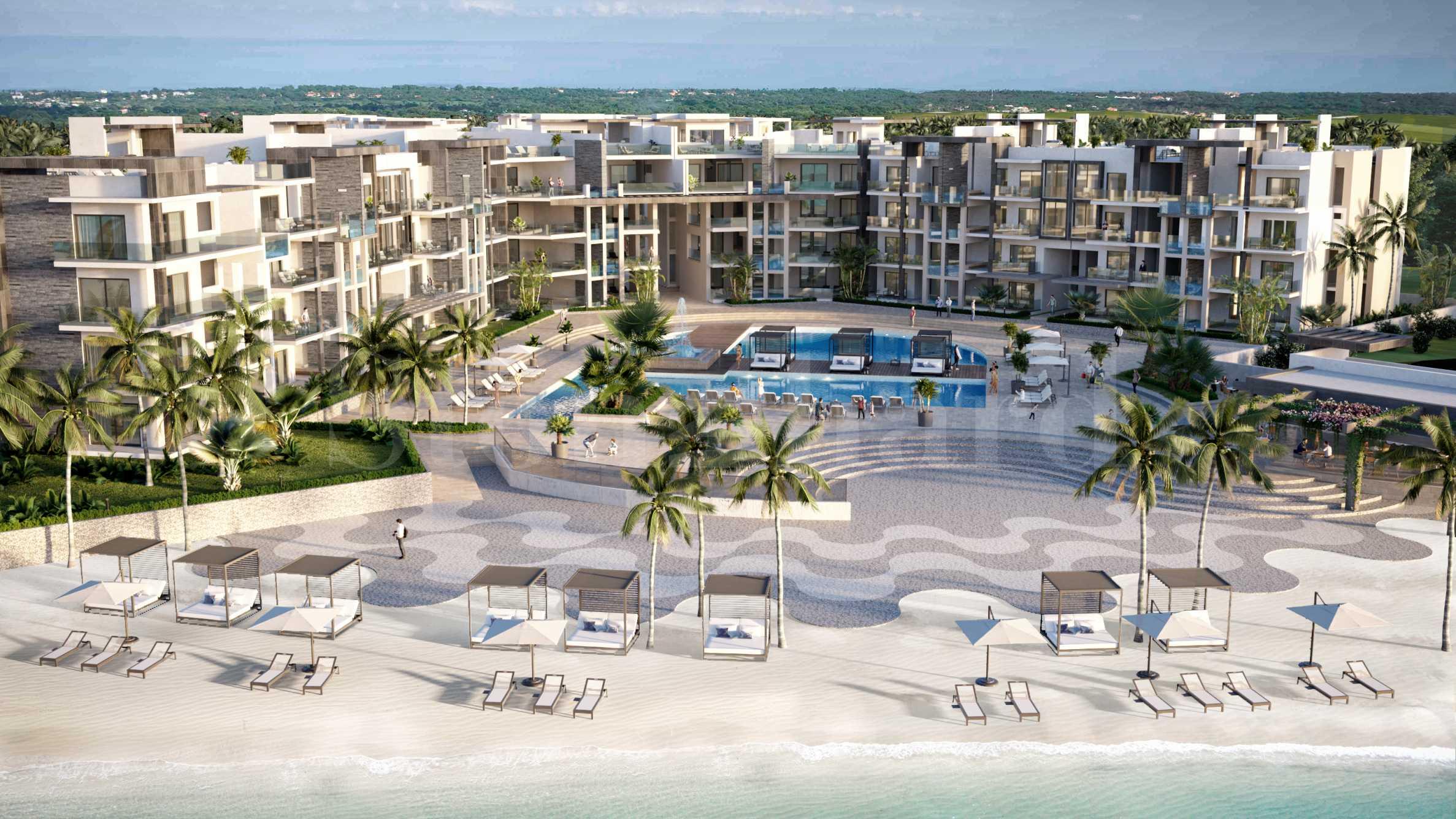 Първокласен комплекс на плажа Баваро в Пунта Кана1 - Stonehard