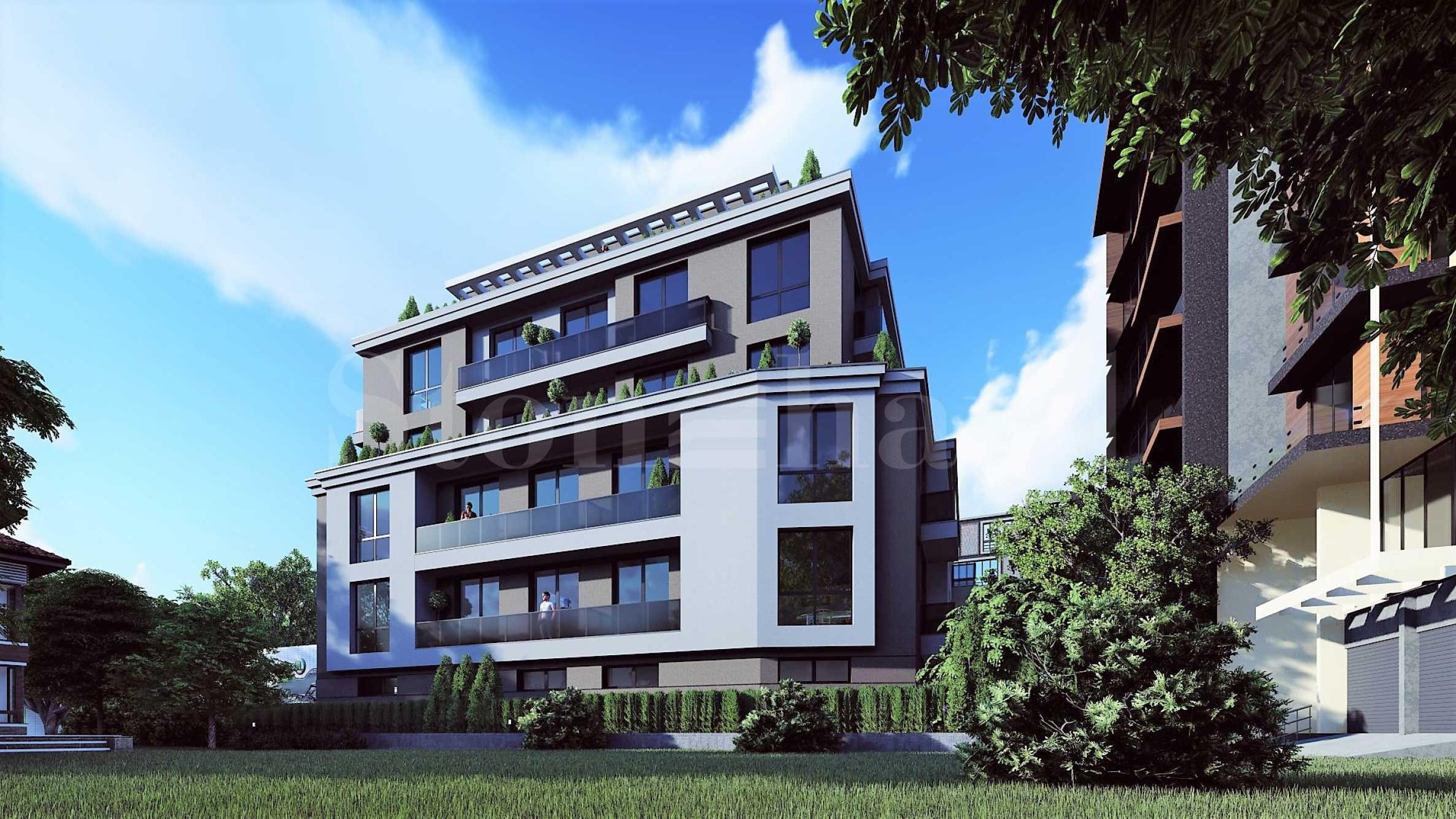 Бутикова жилищна сграда с озеленен двор в комуникативен район 1 - Stonehard