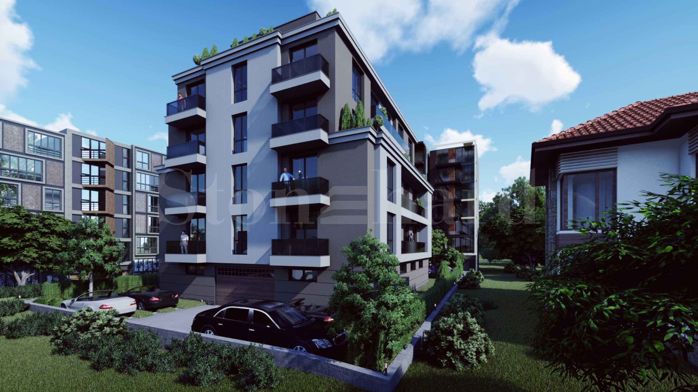 Бутикова жилищна сграда с озеленен двор в комуникативен район 2 - Stonehard