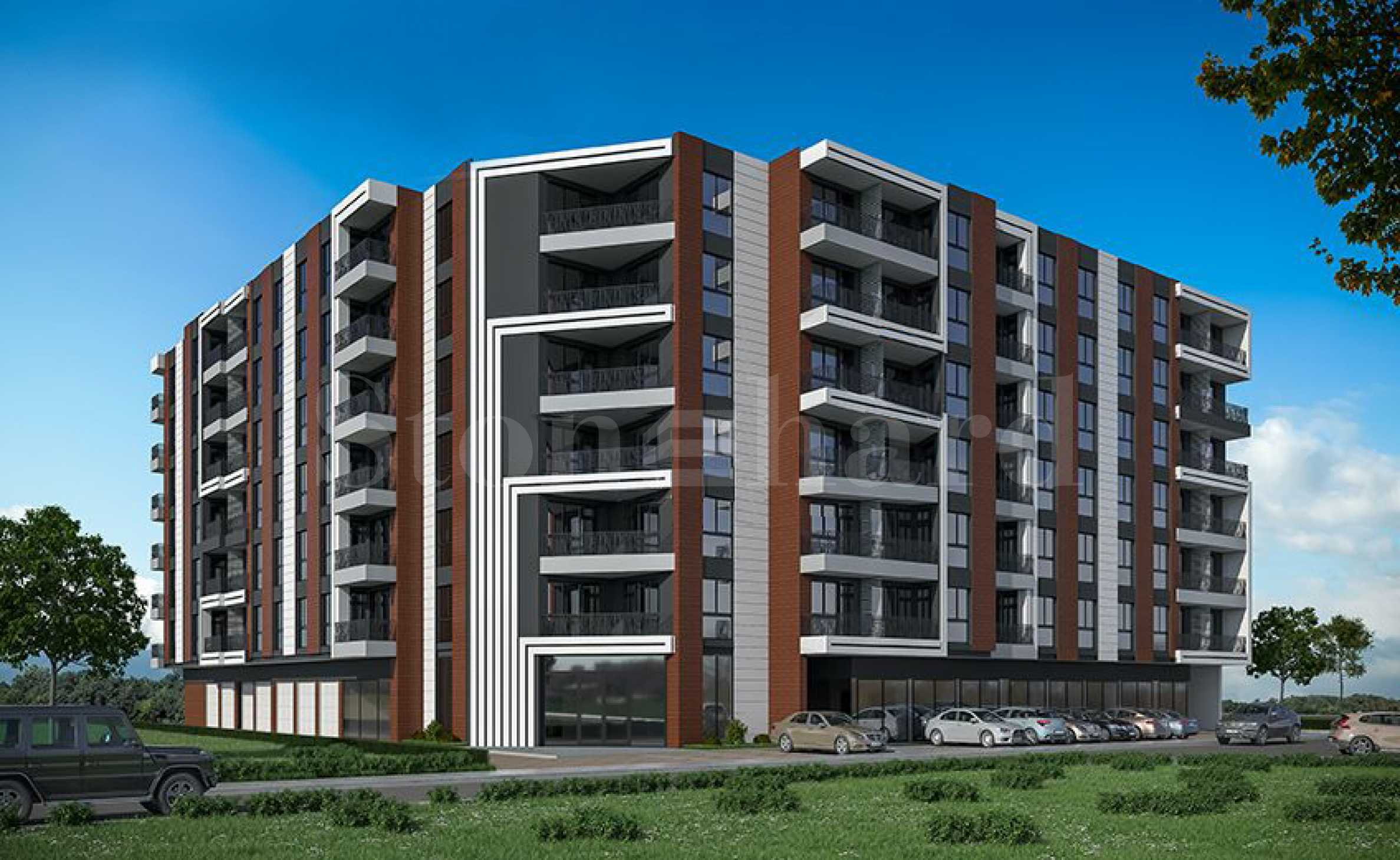 Pre-sale prices. New apartments in a modern complex in Burgas1 - Stonehard