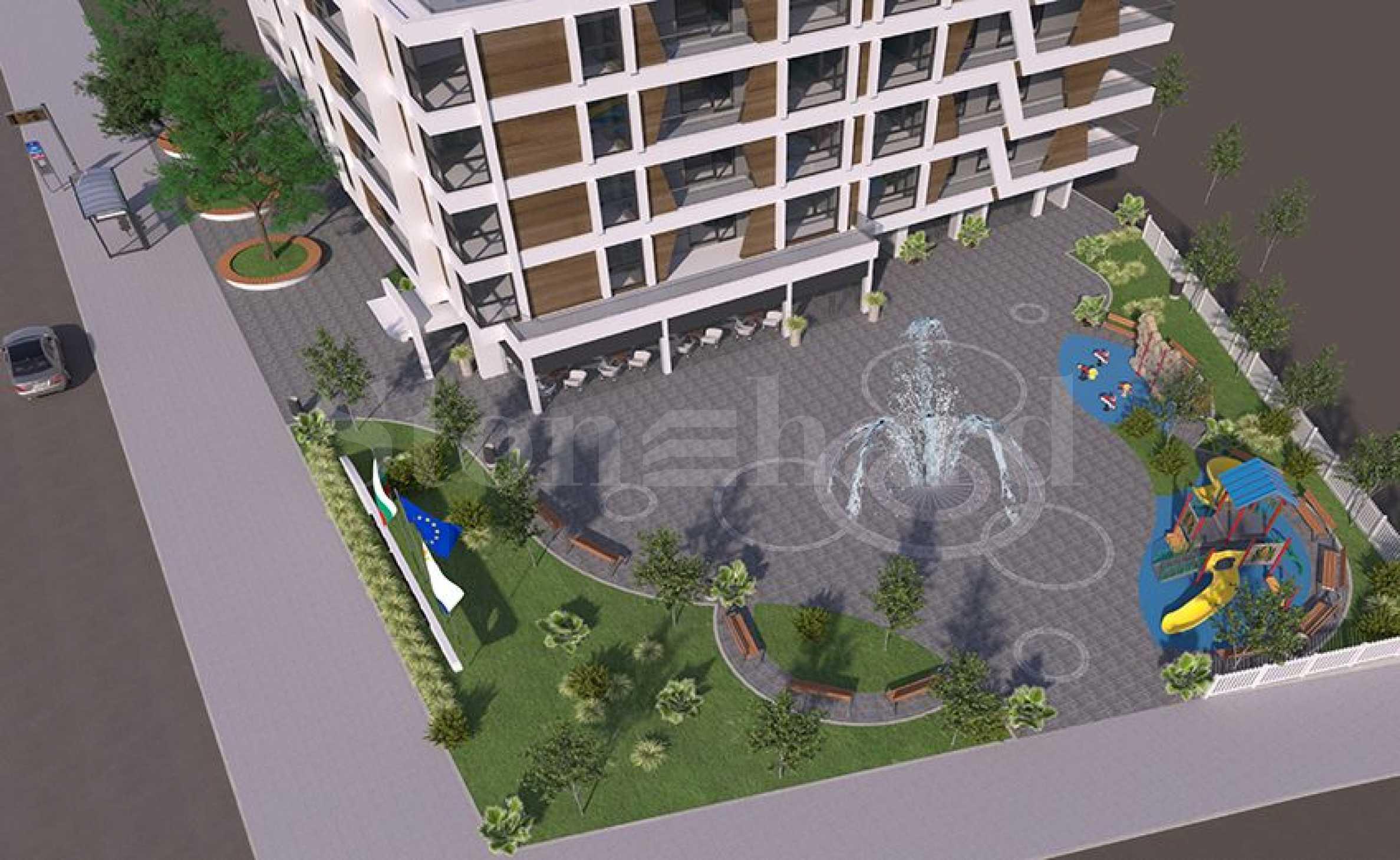Предстартови цени! Апартаменти ново строителство в центъра на кв. Сарафово2 - Stonehard