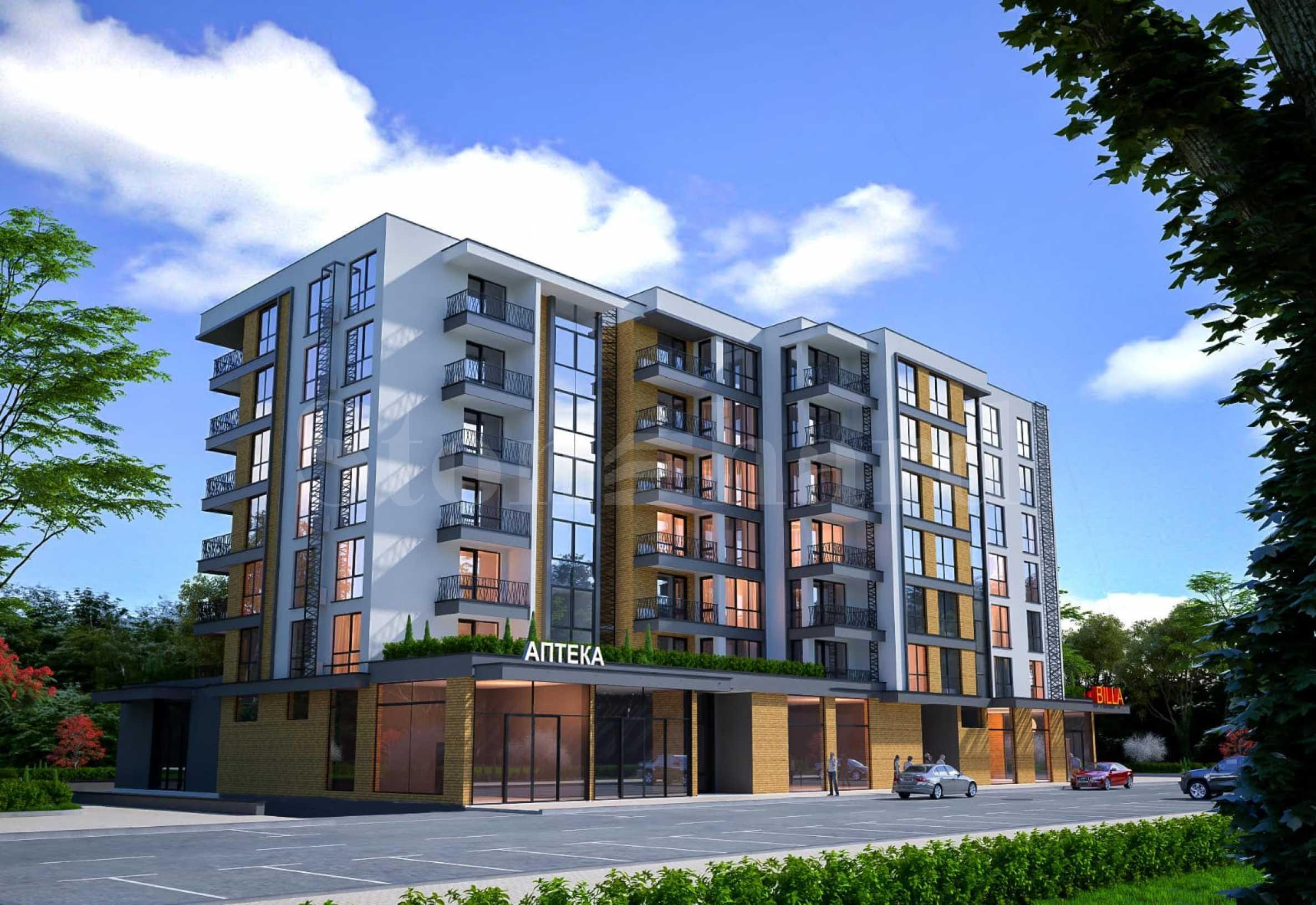 Нови апартаменти в модерна сграда в кв. Славейков1 - Stonehard