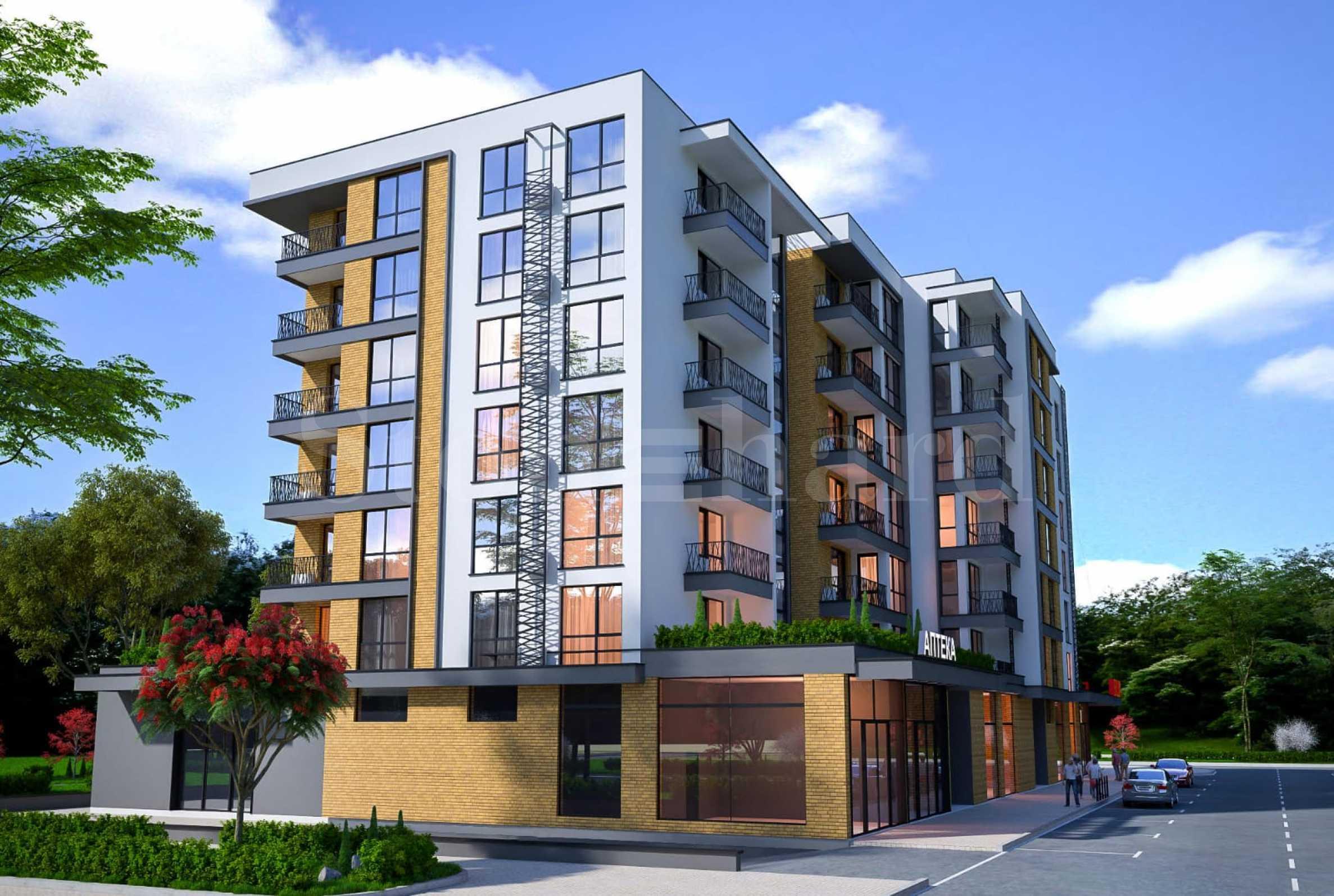 Нови апартаменти в модерна сграда в кв. Славейков2 - Stonehard