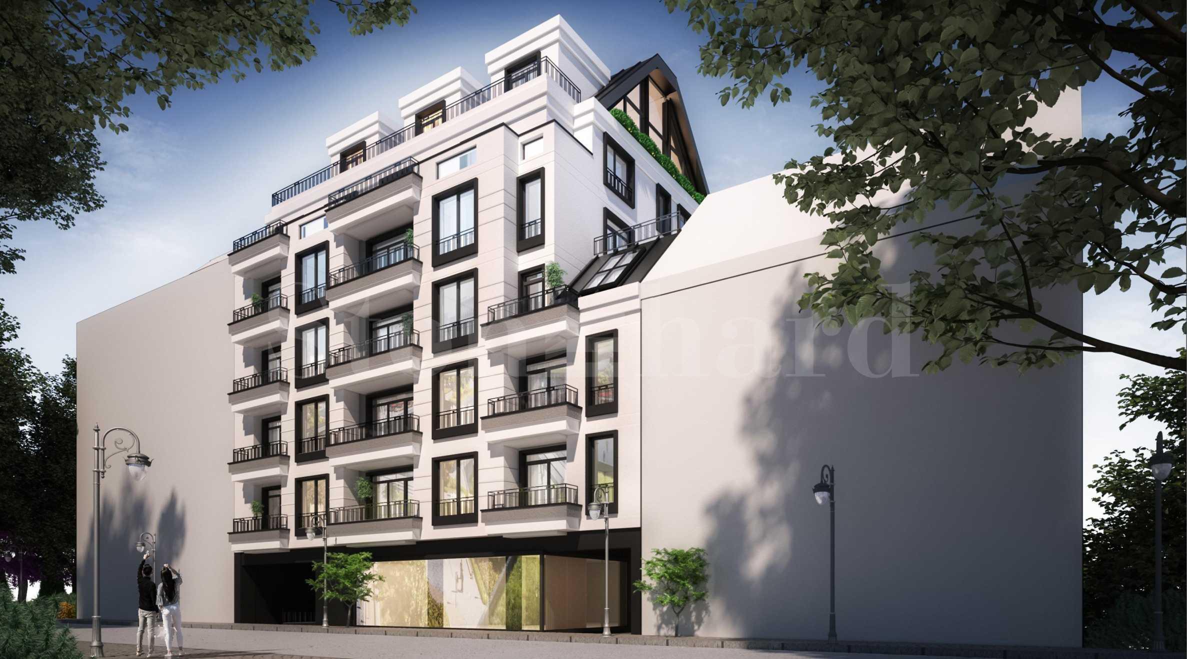 Апартаменти в нова сграда в центъра на София до метростанция1 - Stonehard