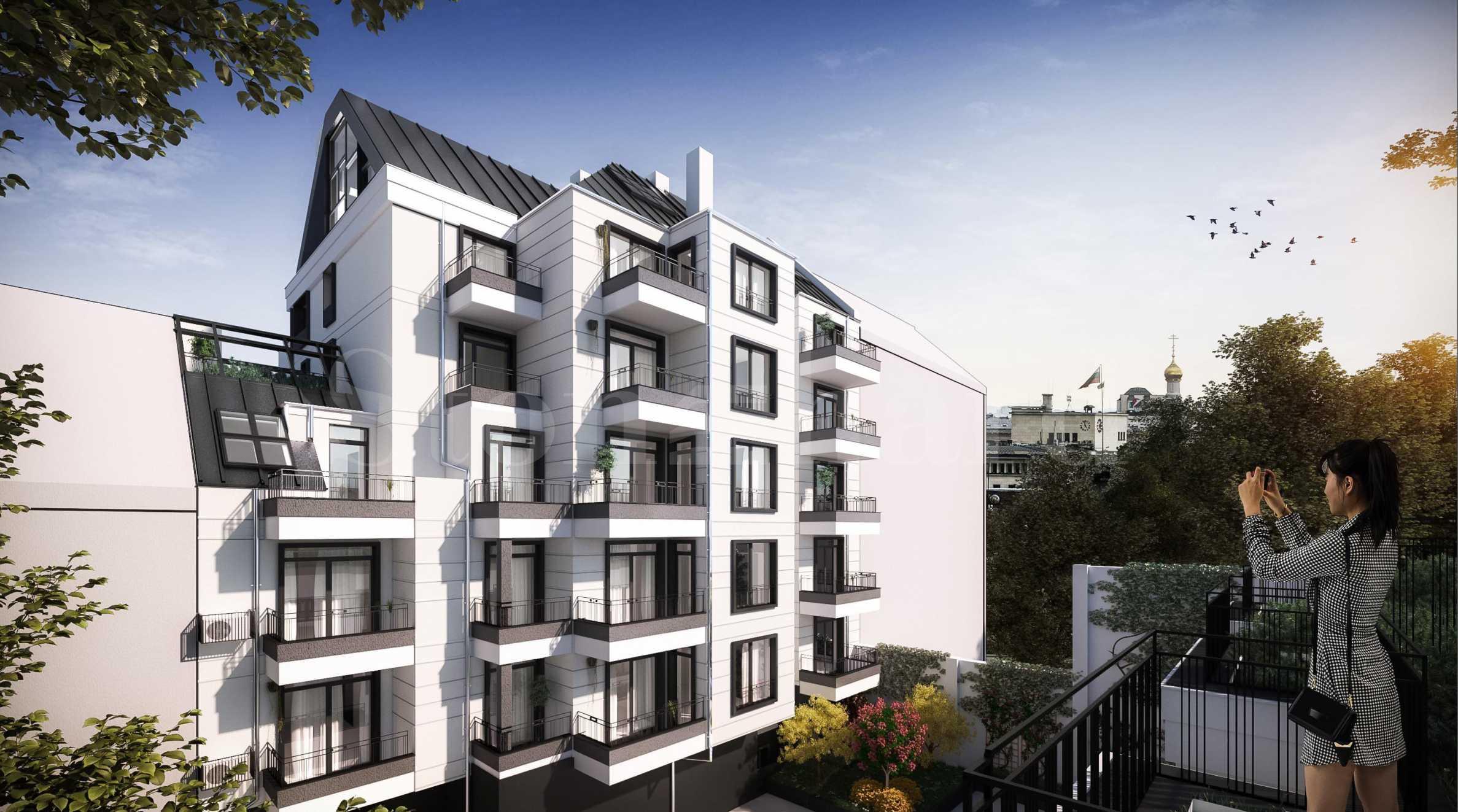 Апартаменти в нова сграда в центъра на София до метростанция2 - Stonehard