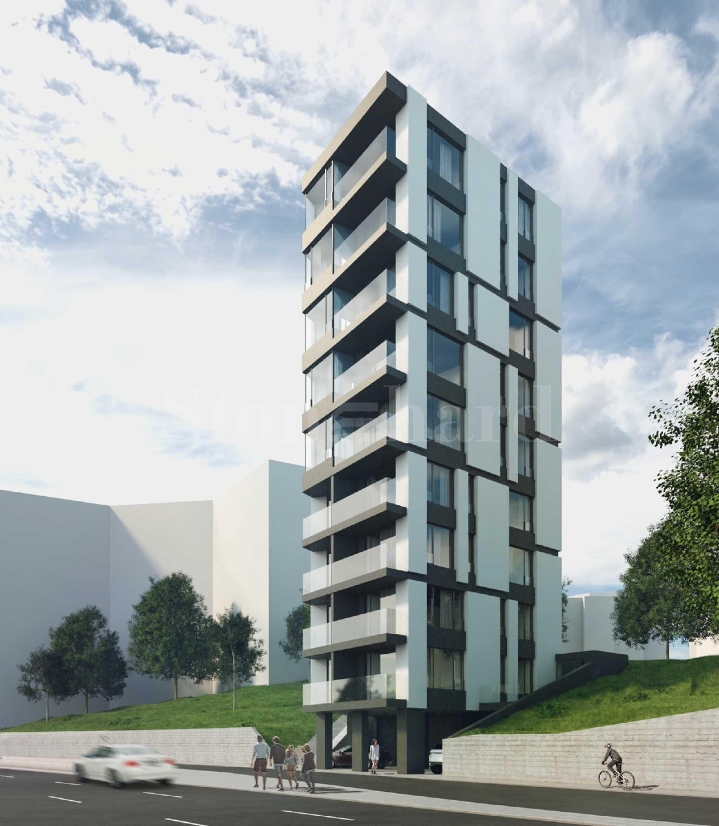 Лимитиран брой апартаменти в ефектна нова сграда в кв. Бриз 1 - Stonehard