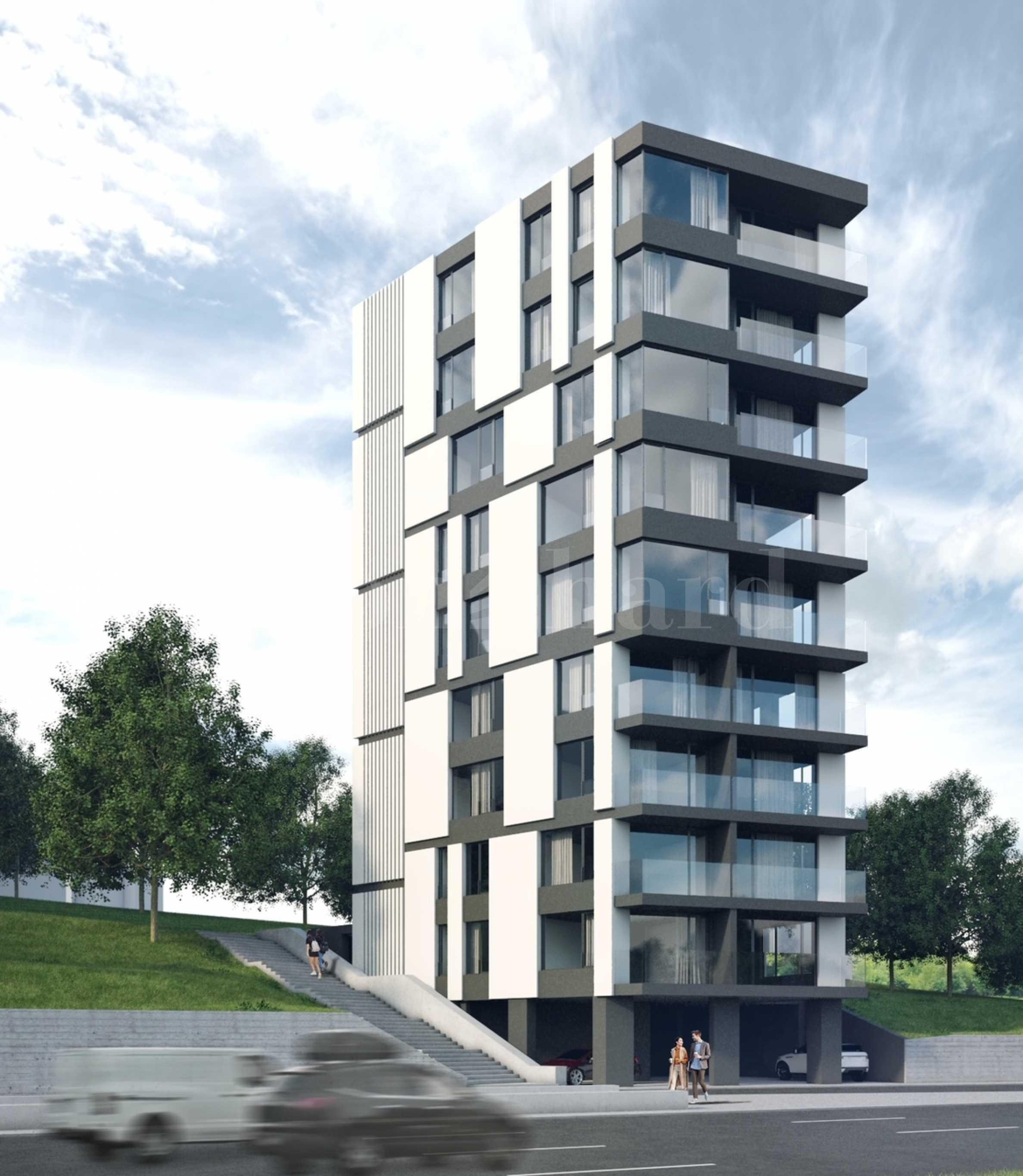 Лимитиран брой апартаменти в ефектна нова сграда в кв. Бриз 2 - Stonehard