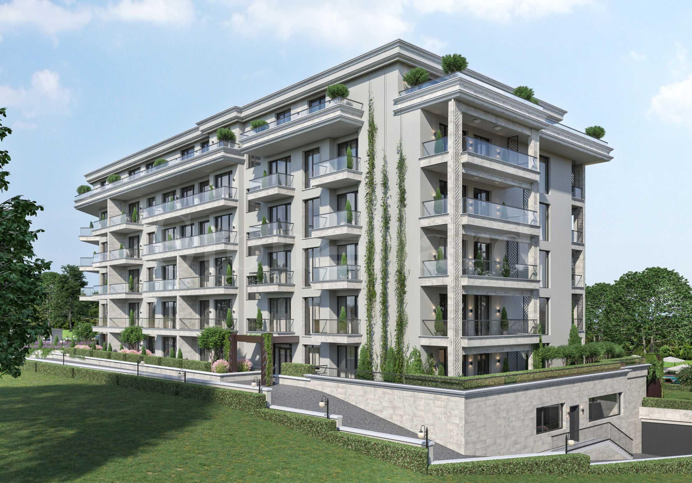 Луксозни апартаменти в морски комплекс