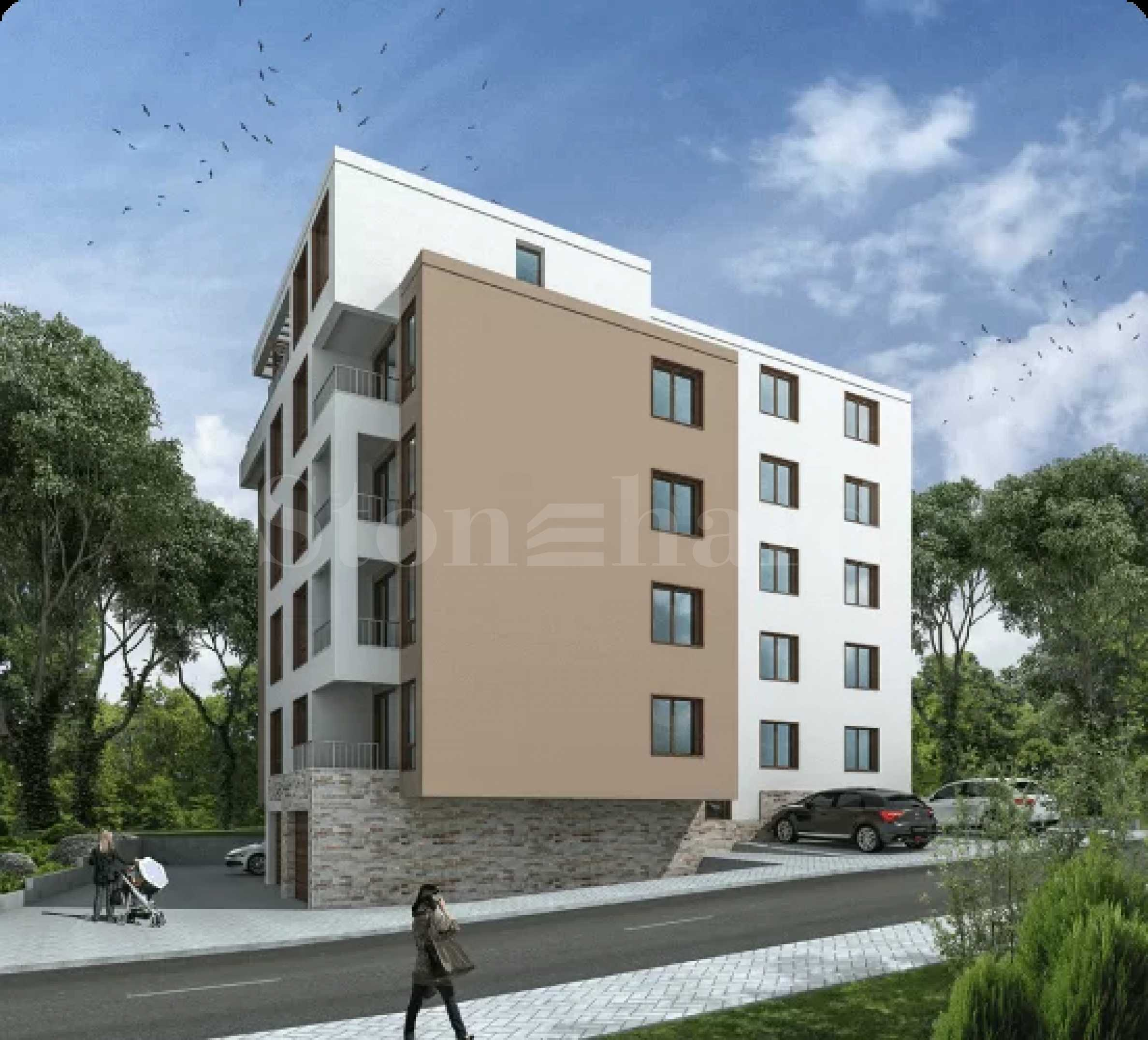 Beautiful new building with one- and two-bedroom apartments in Varna2 - Stonehard