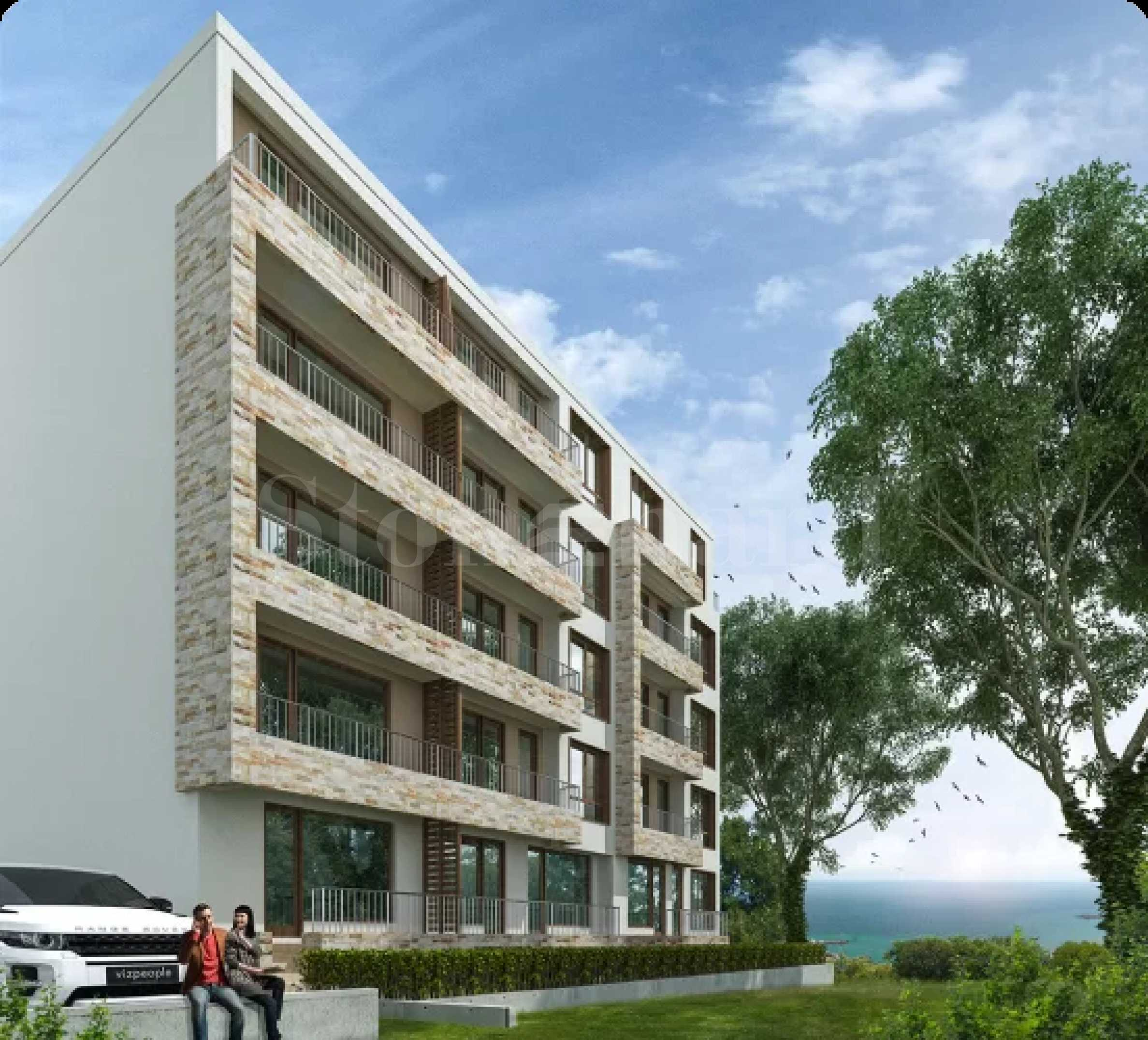 Beautiful new building with one- and two-bedroom apartments in Varna1 - Stonehard