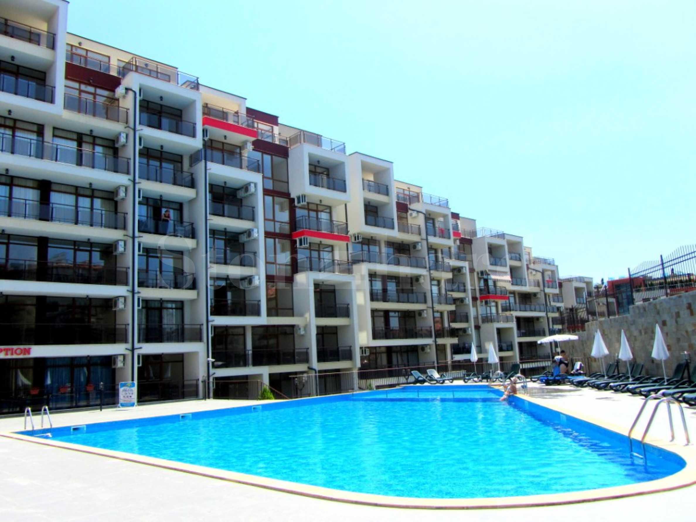 Апартаменти с гледки море в комплекс с Акт 16 в Свети Влас1 - Stonehard