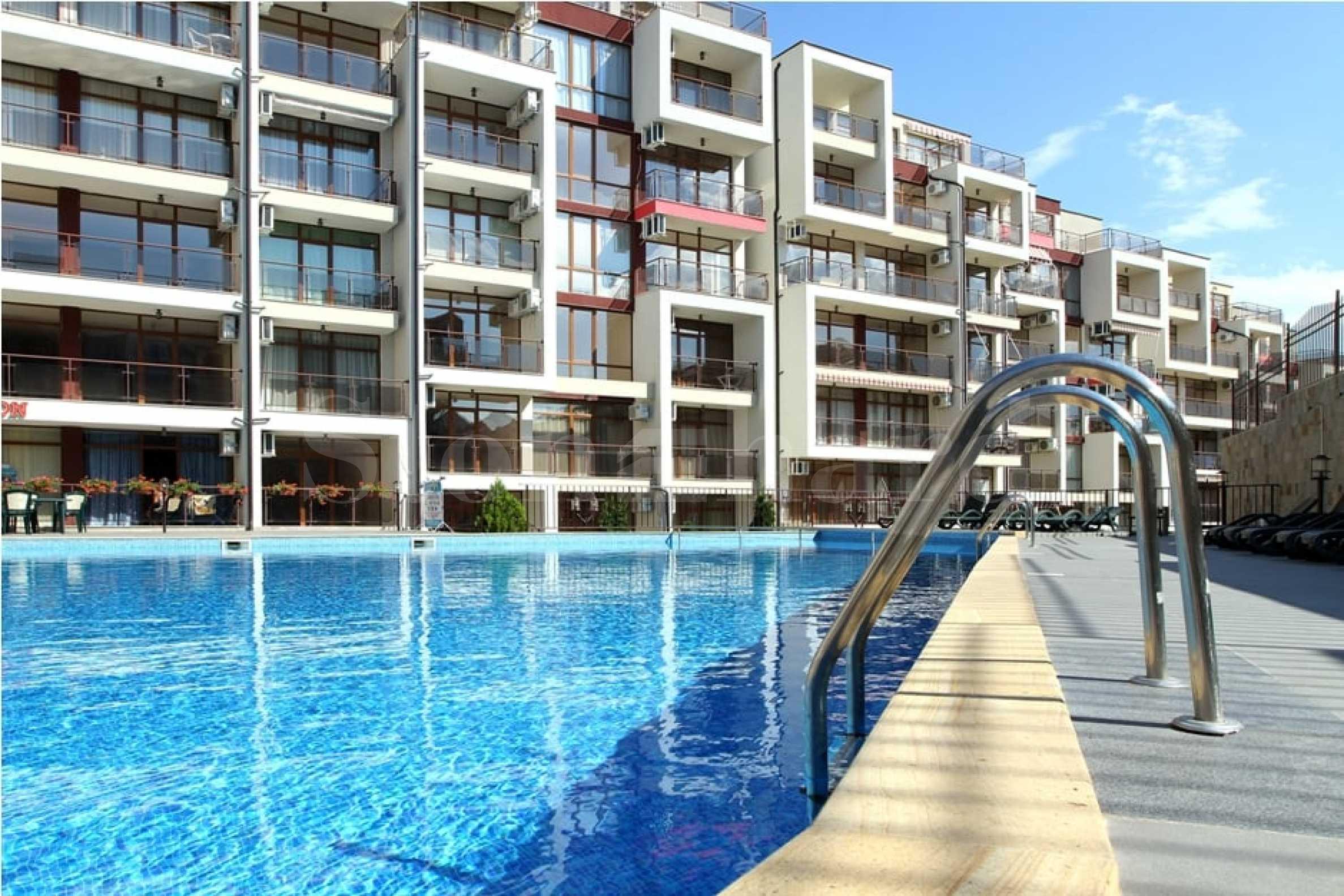 Апартаменти с гледки море в комплекс с Акт 16 в Свети Влас2 - Stonehard