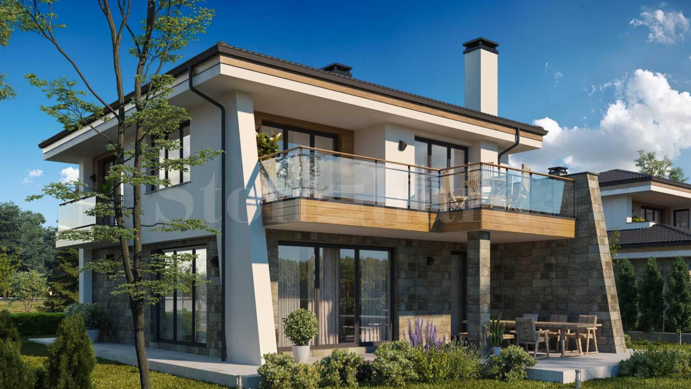 Wonderful new houses with sea views, near Burgas and Pomorie1 - Stonehard
