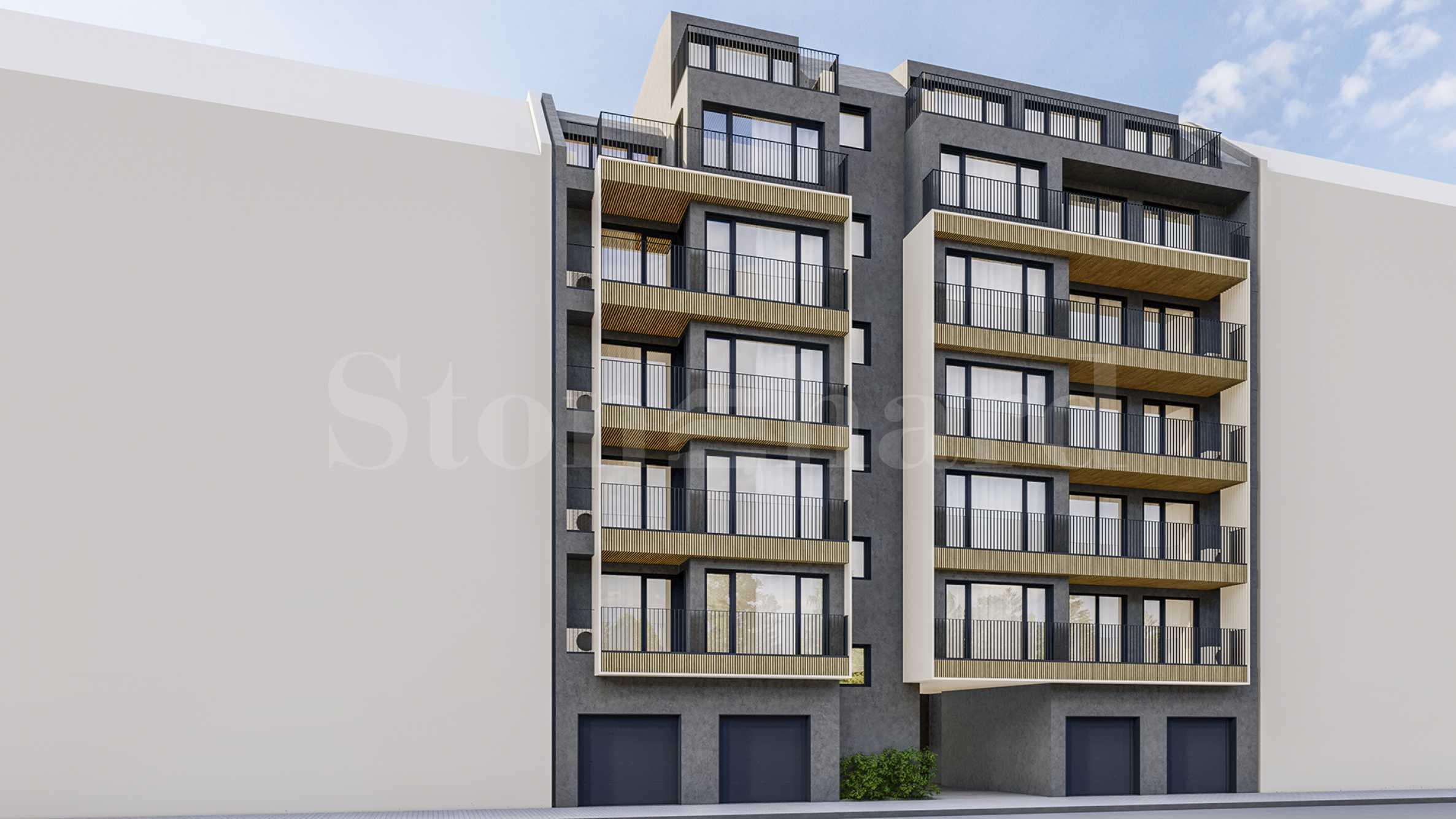 Бутикова жилищна сграда с различни типове апартаменти до пл. Лъвов мост1 - Stonehard