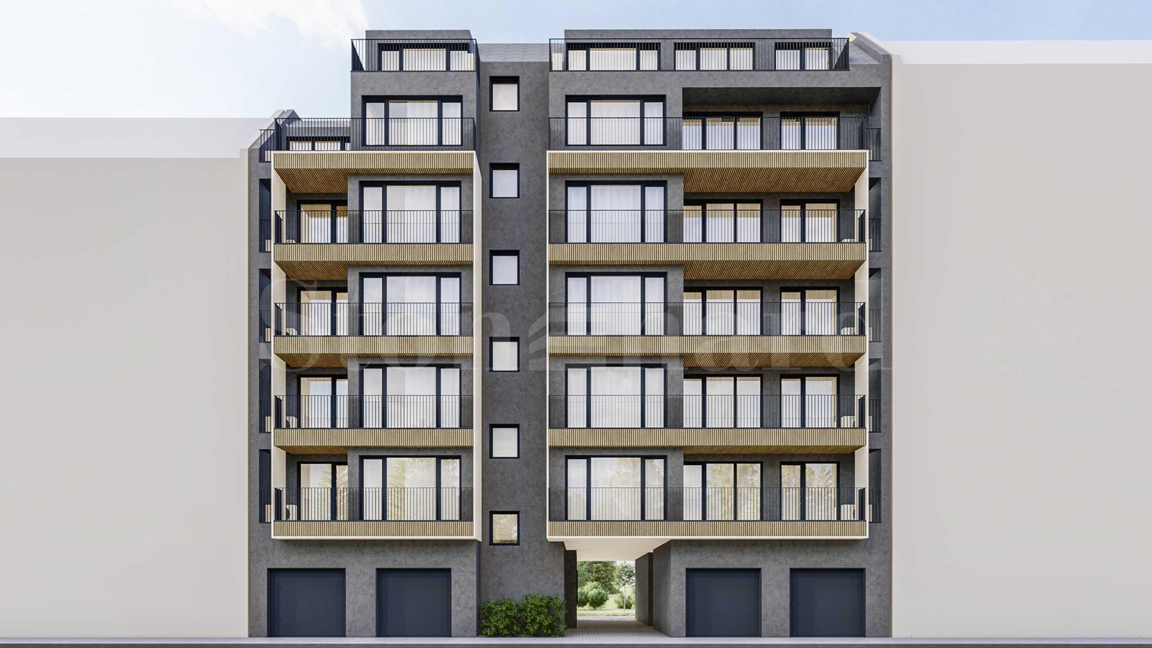 Бутикова жилищна сграда с различни типове апартаменти до пл. Лъвов мост2 - Stonehard