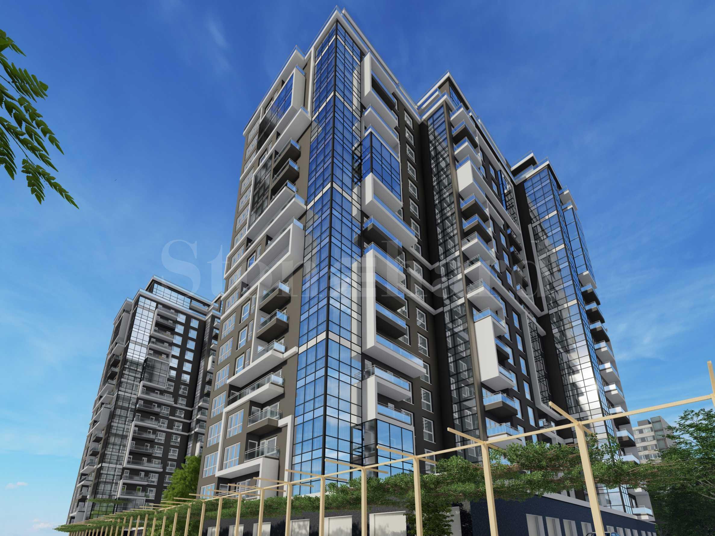 Апартаменти в ефектен комплекс близо до Delta Planet Mall1 - Stonehard