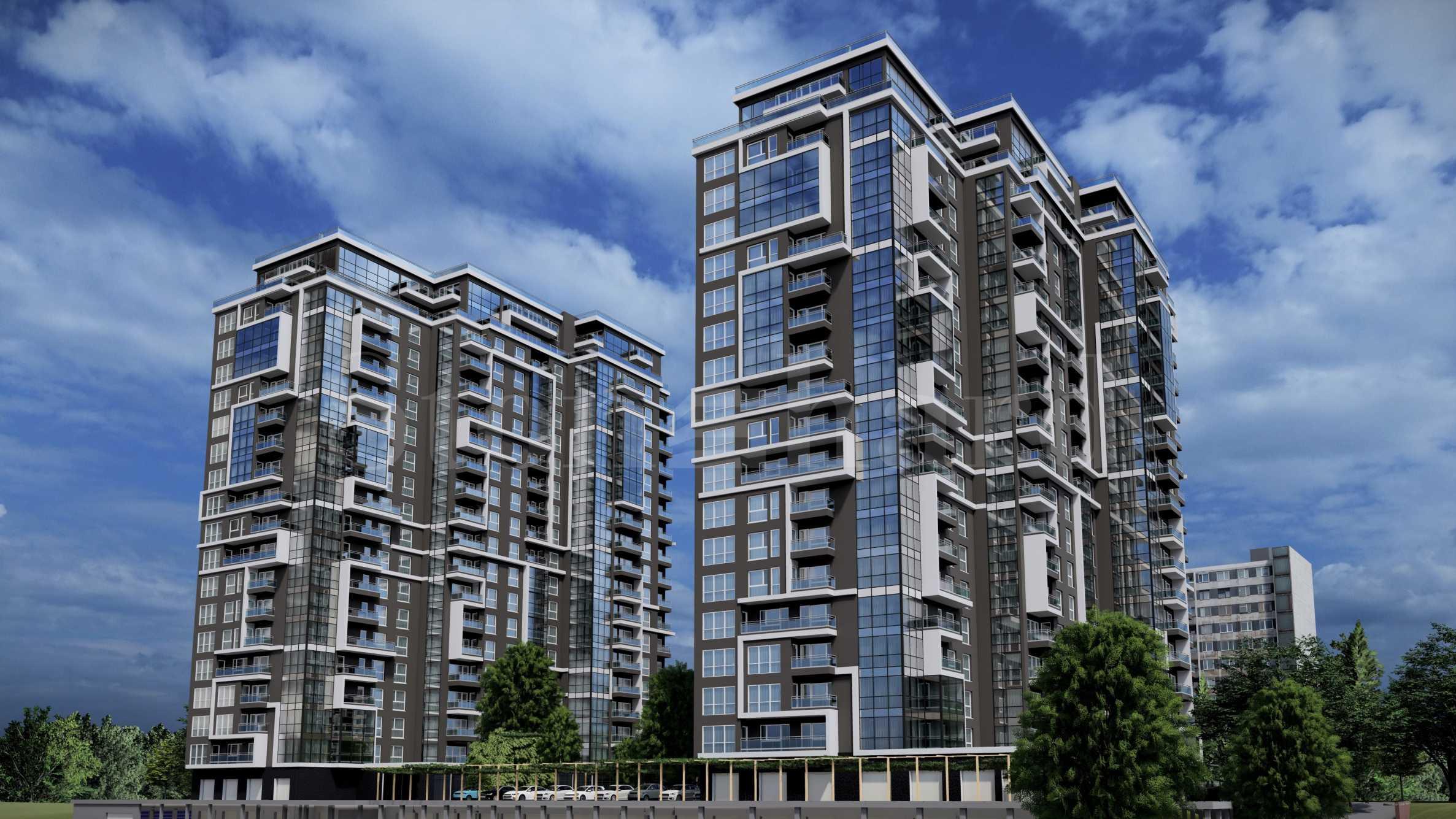 Апартаменти в ефектен комплекс близо до Delta Planet Mall2 - Stonehard
