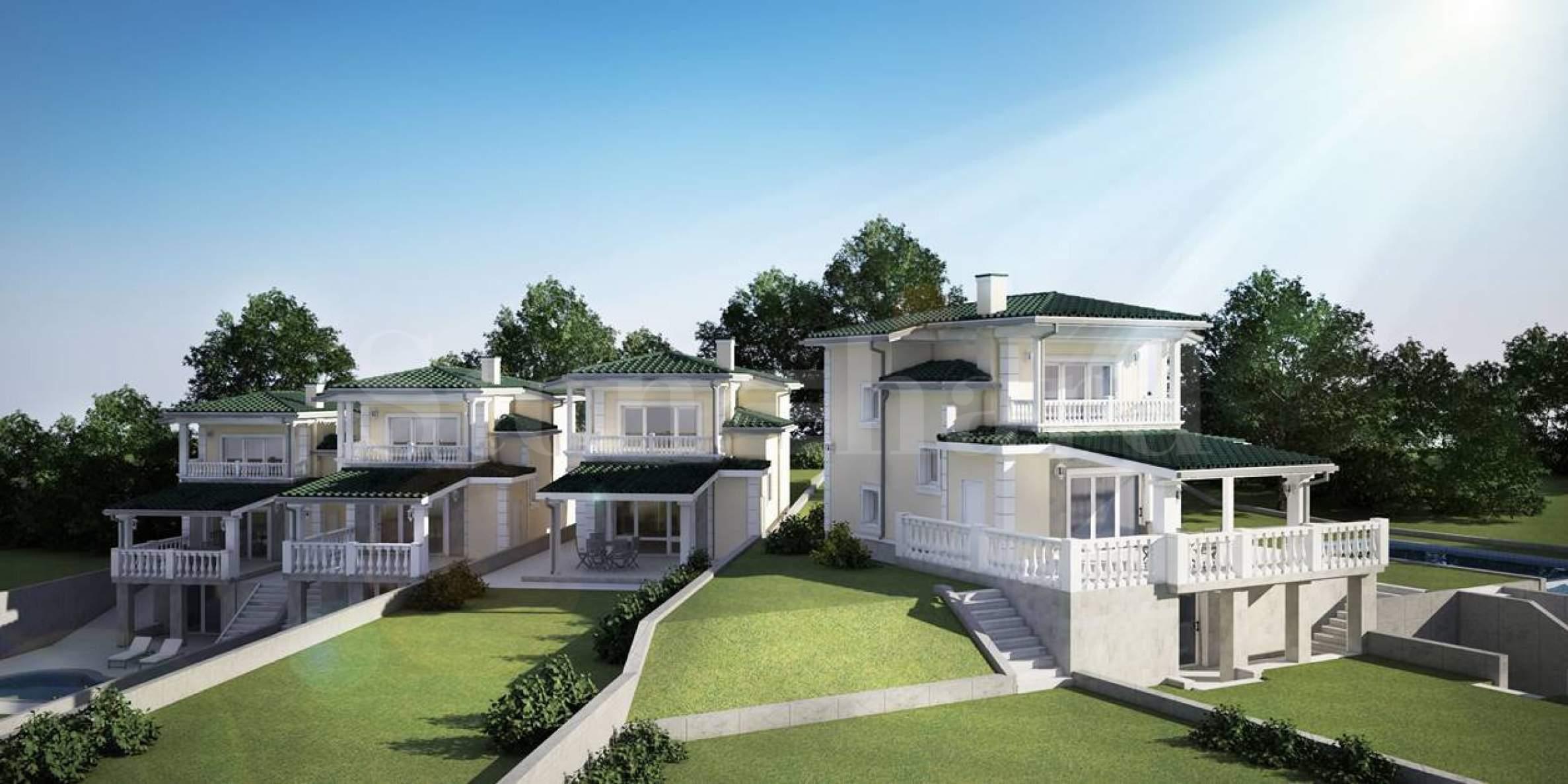 Brand new villas with pools & sea views1 - Stonehard