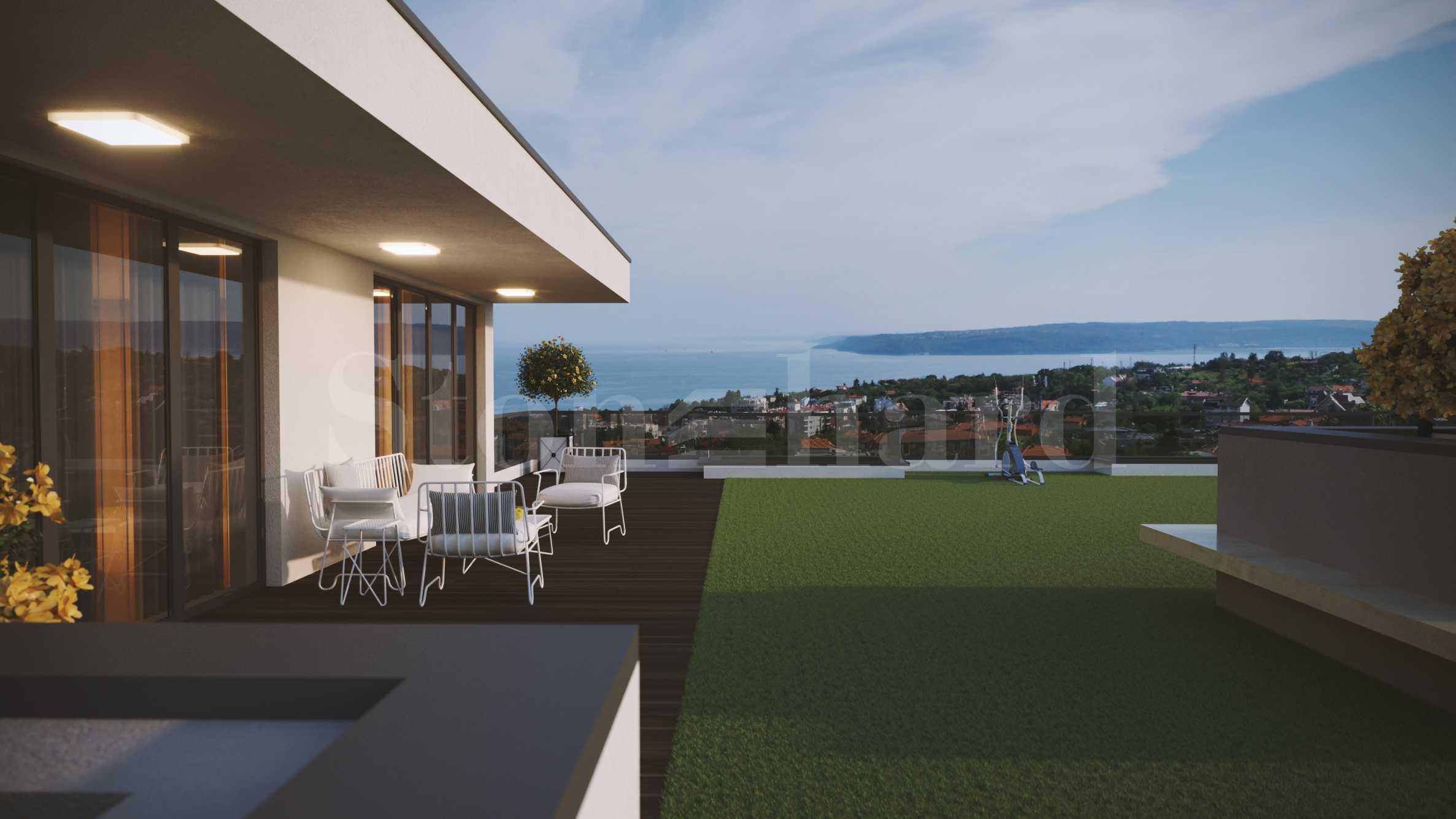 Нов комплекс с басейн и апартаменти с панорама море2 - Stonehard