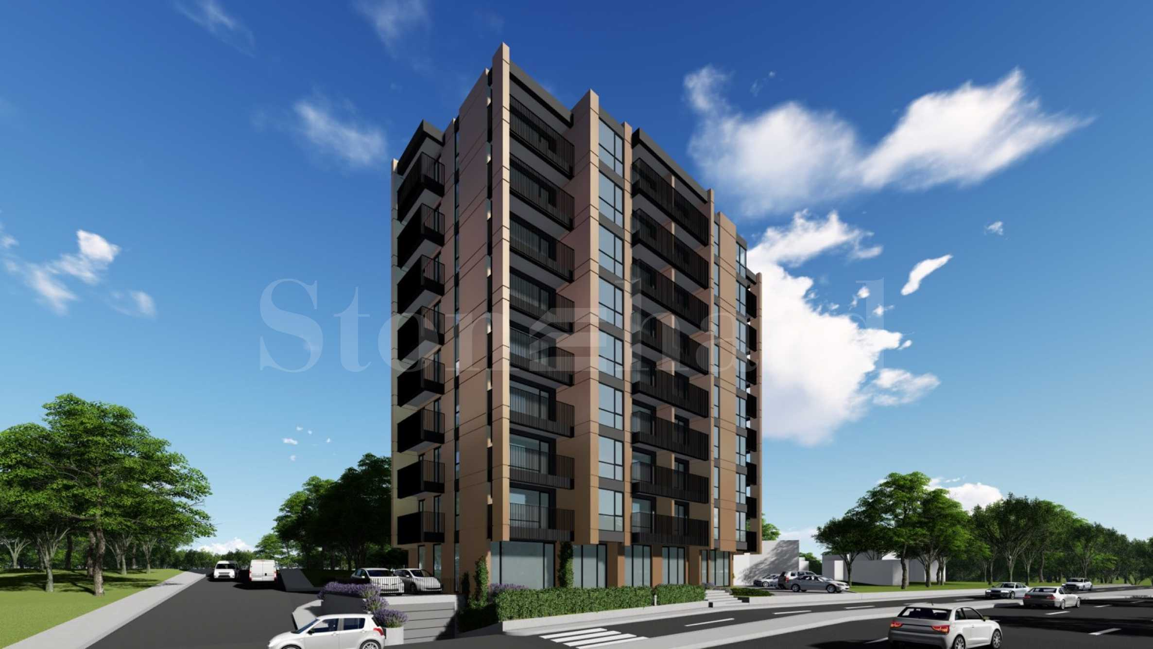 New apartments in a modern building near Levski and Briz districts1 - Stonehard