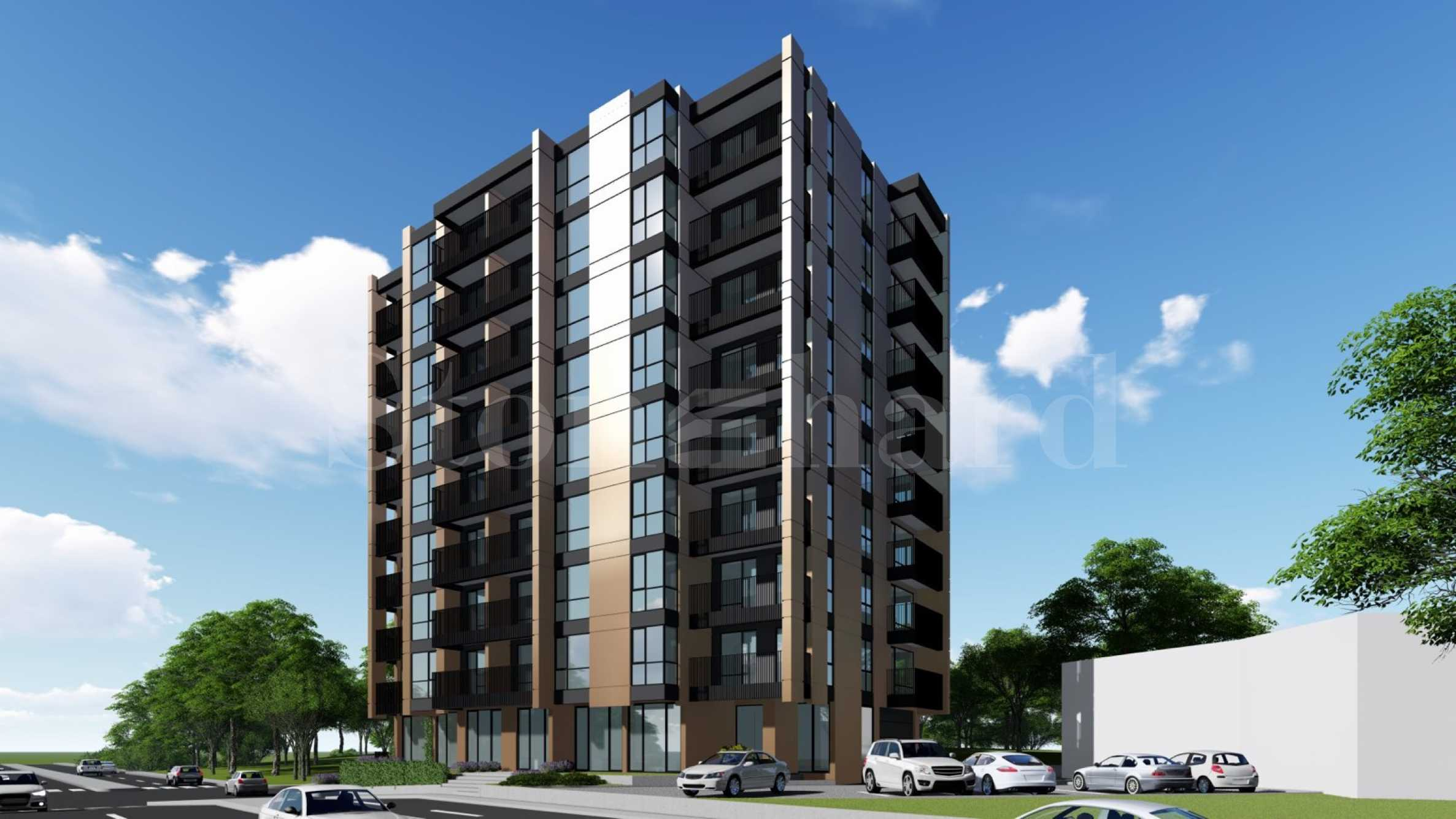 New apartments in a modern building near Levski and Briz districts2 - Stonehard