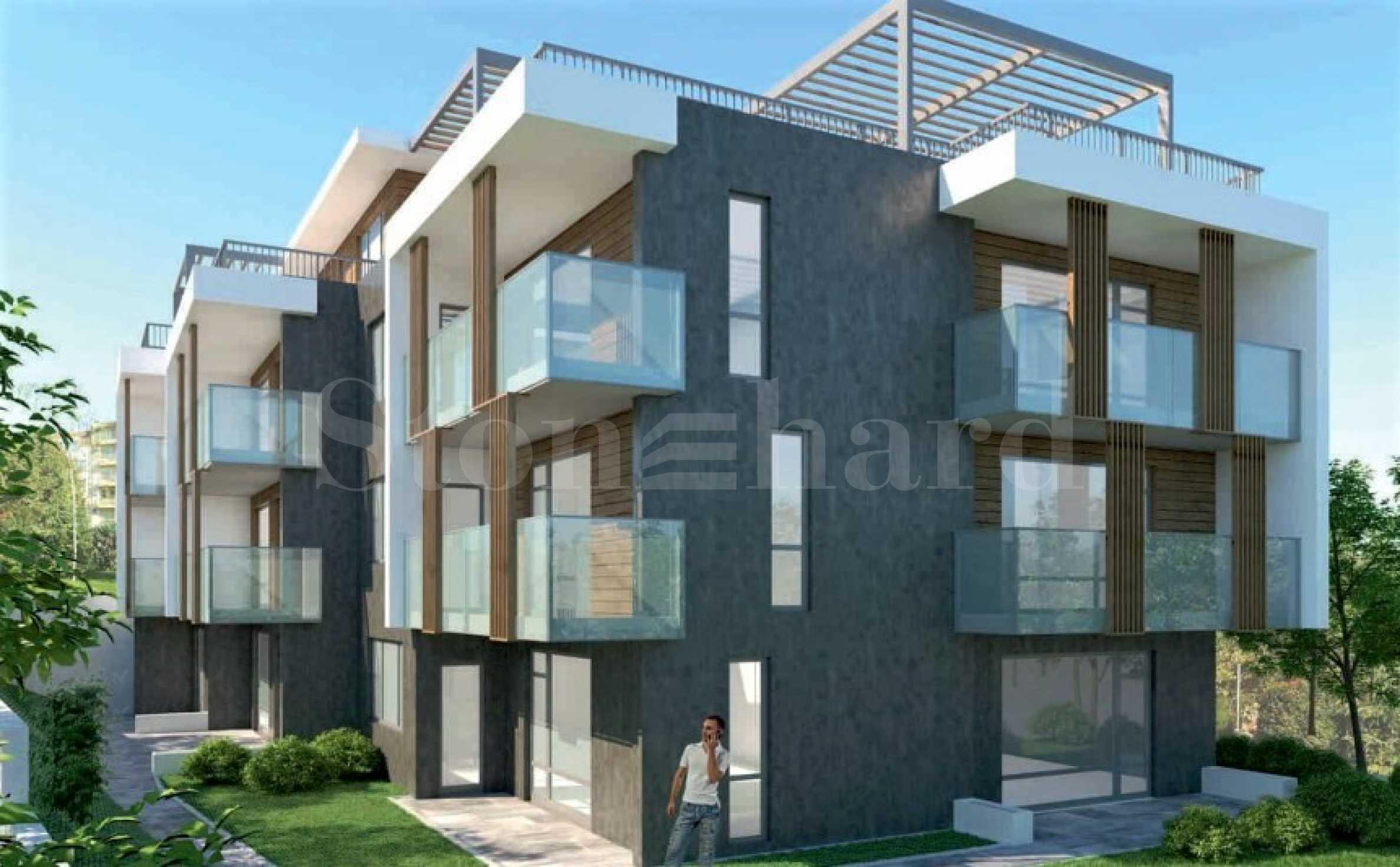 Предстартови цени! Апартаменти в нова, модерна сграда в Черноморец2 - Stonehard