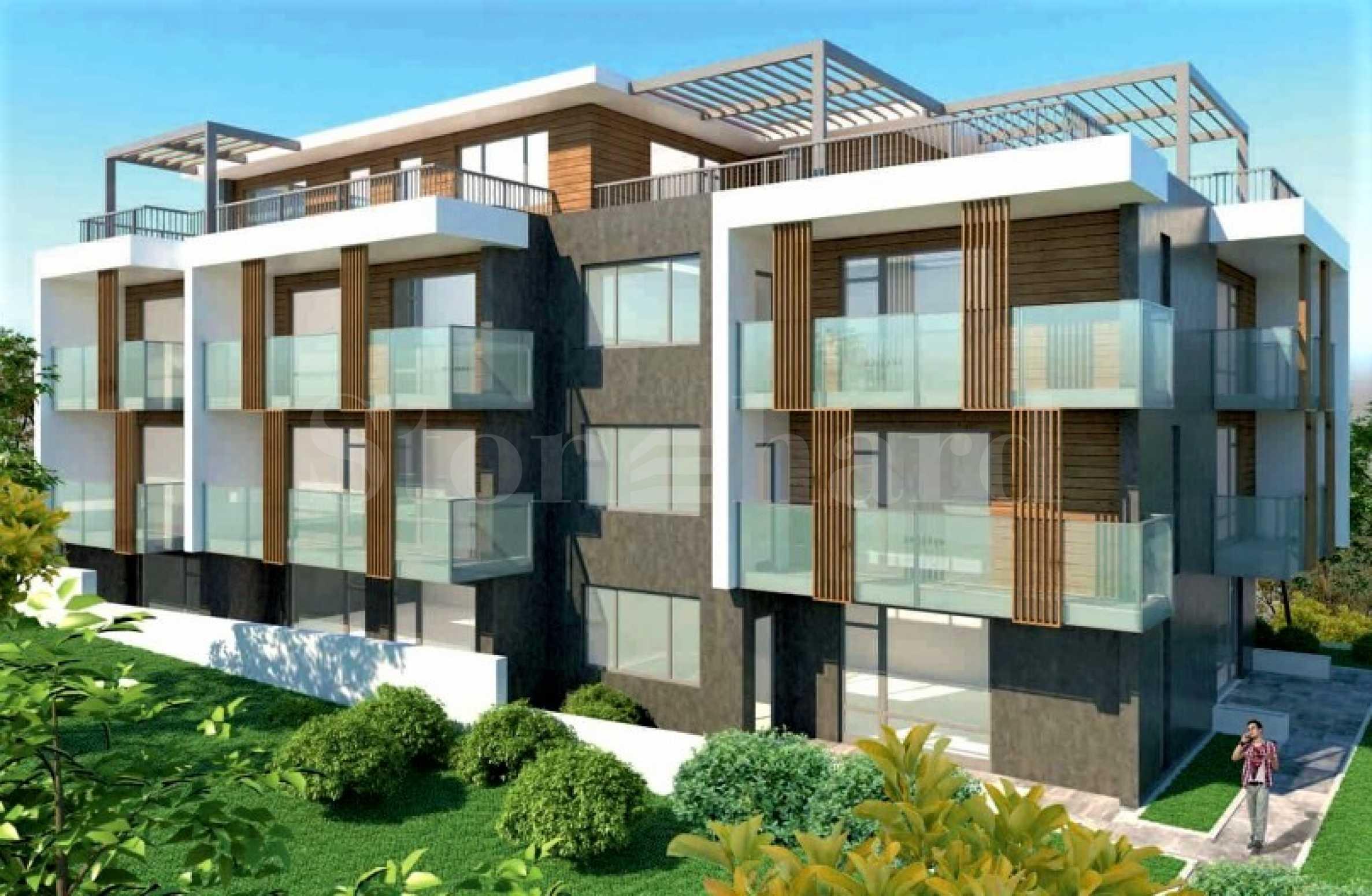 Предстартови цени! Апартаменти в нова, модерна сграда в Черноморец1 - Stonehard