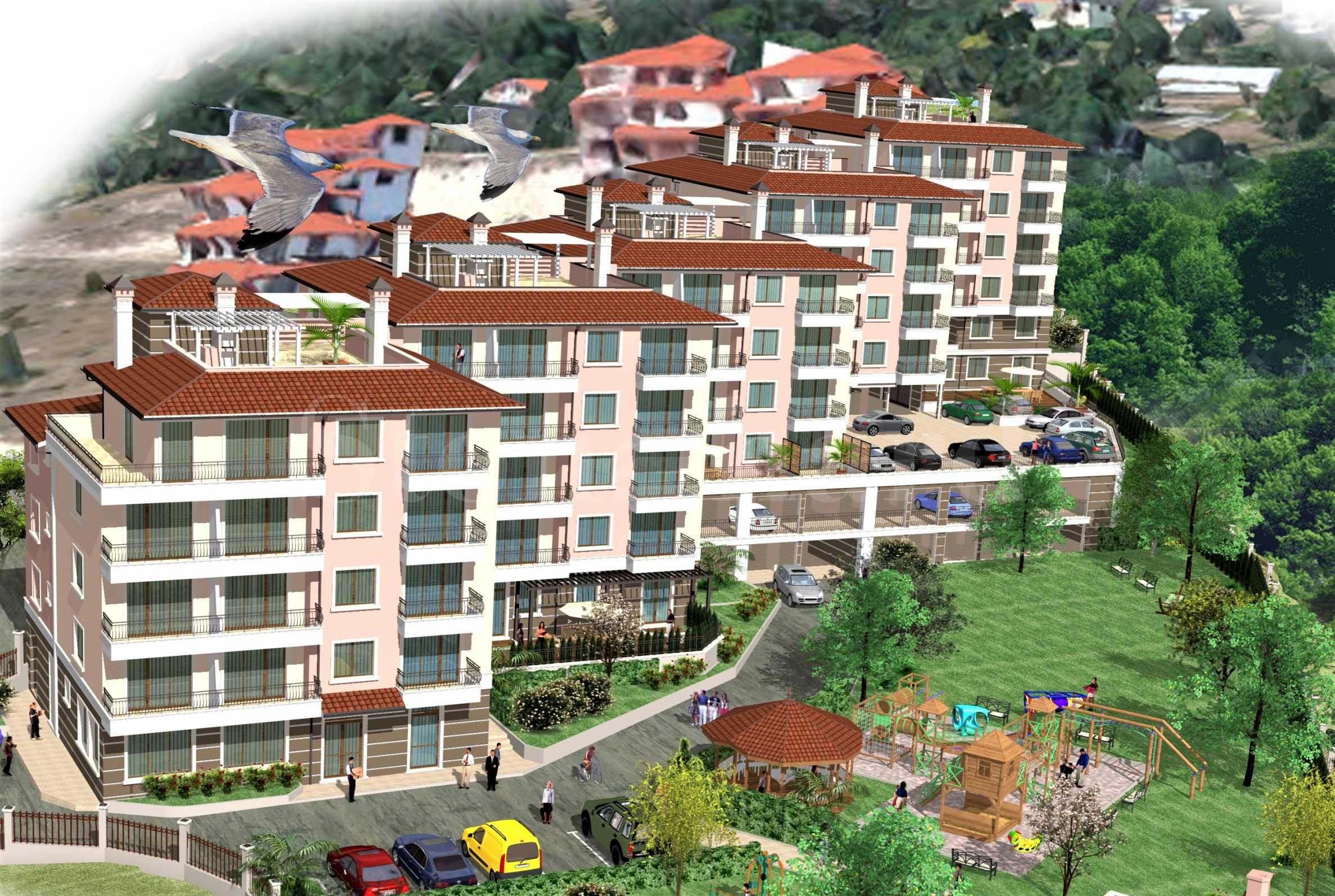 Апартаменти ново строителство с гледки към морето и планината1 - Stonehard