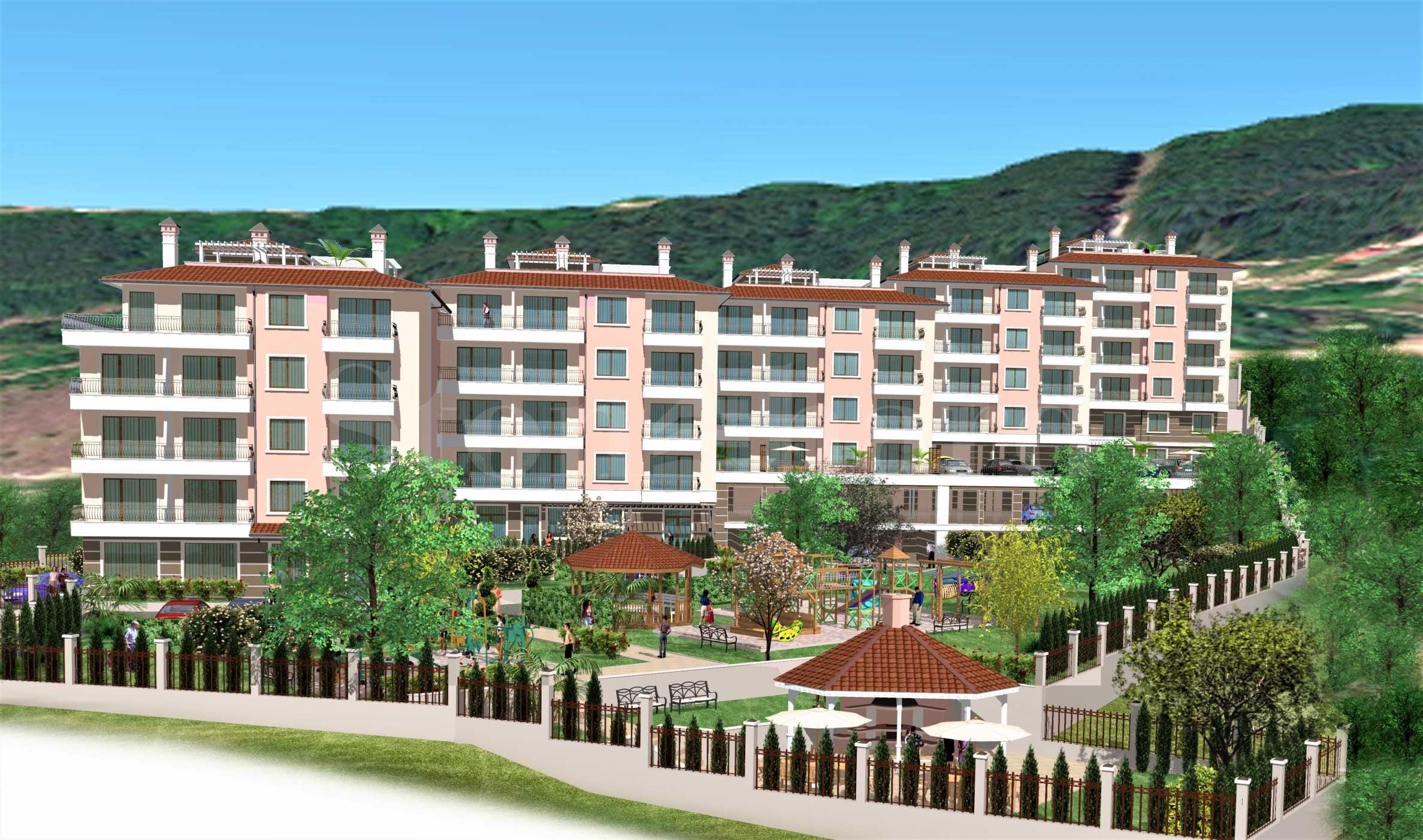 Апартаменти ново строителство с гледки към морето и планината2 - Stonehard