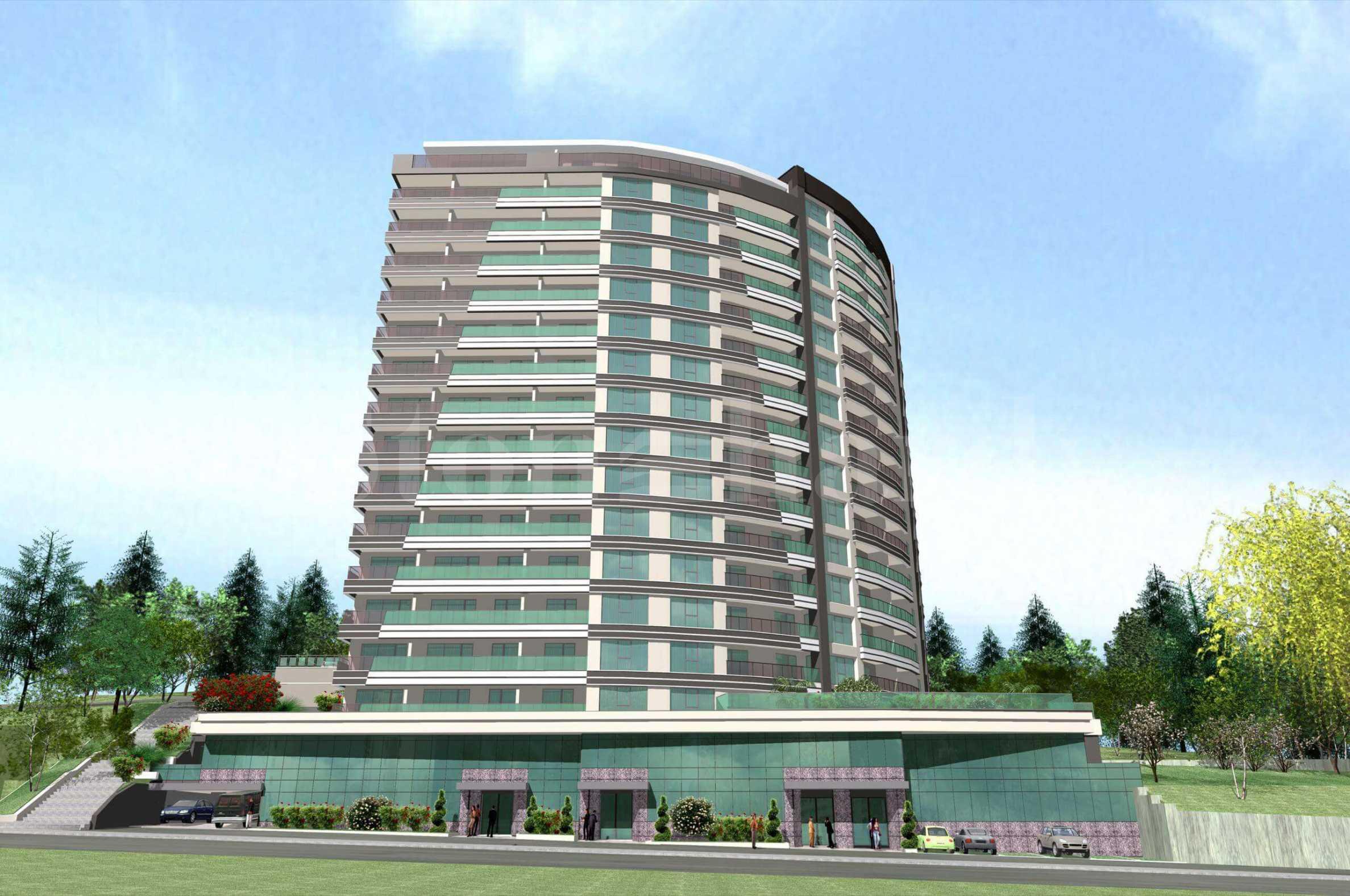 Ефектна сграда с практични апартаменти, бизнес имоти и паркоместа1 - Stonehard