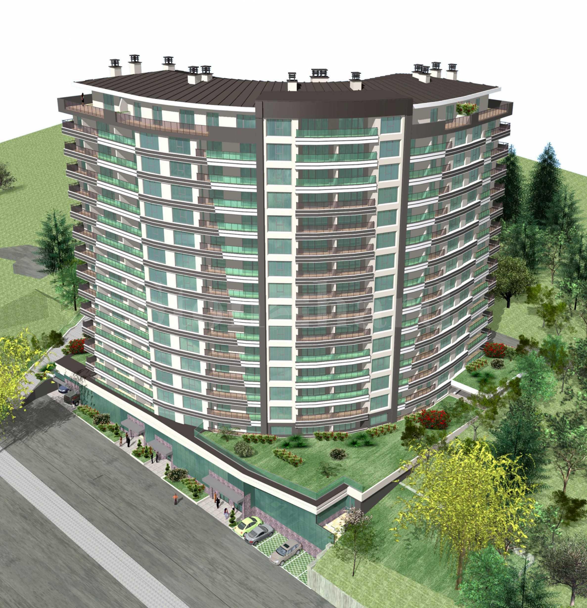 Ефектна сграда с практични апартаменти, бизнес имоти и паркоместа2 - Stonehard