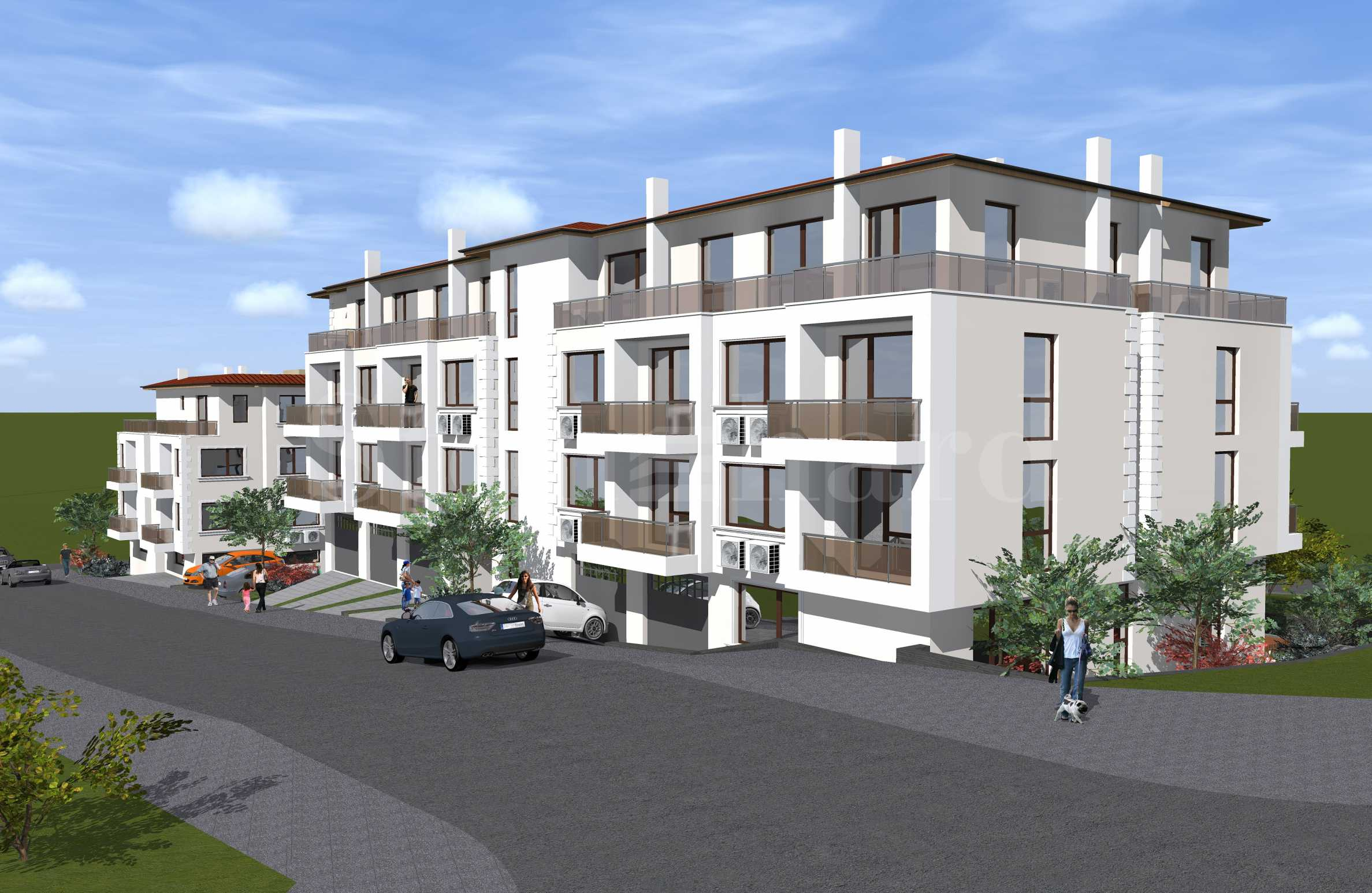 Apartments with sea views in a new building in Sozopol1 - Stonehard