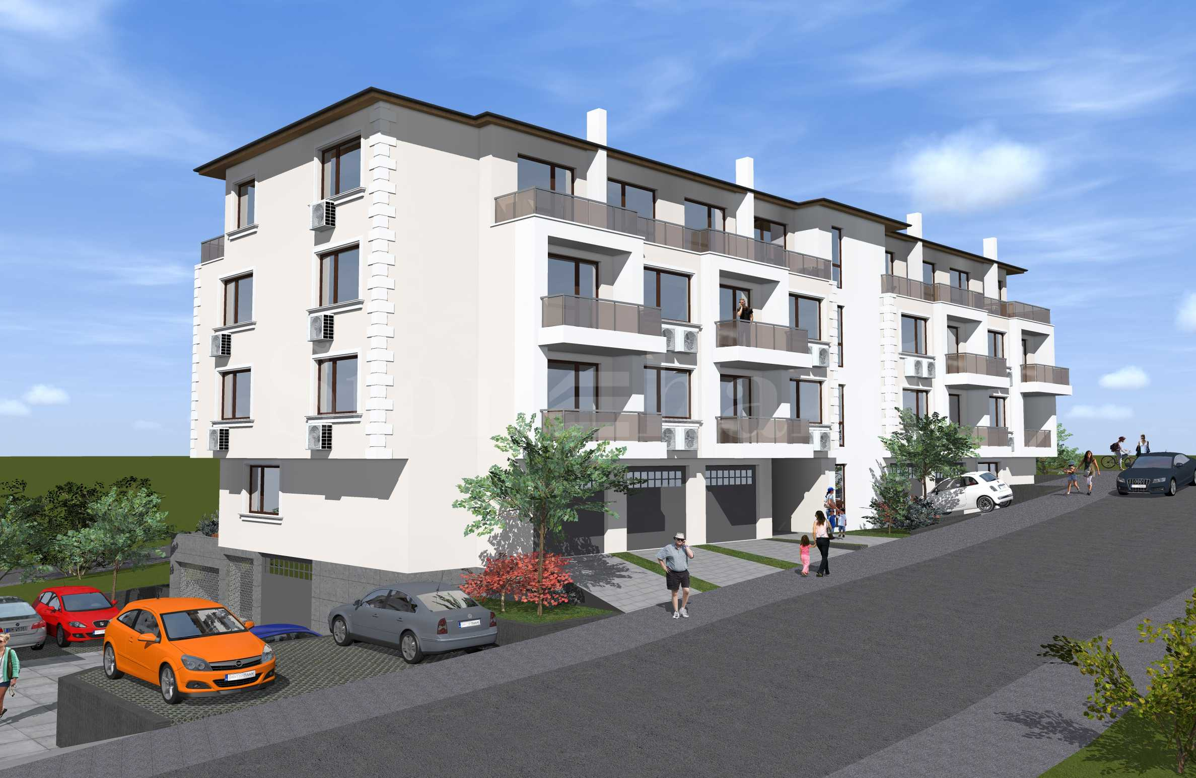 Apartments with sea views in a new building in Sozopol2 - Stonehard