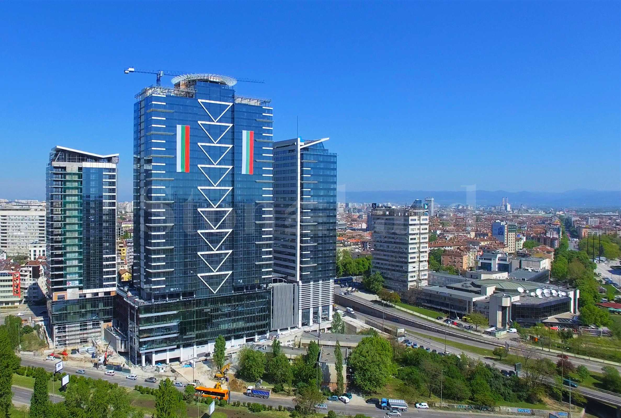 Millennium Center - an innovative complex with apartments near the National Palace of Culture1 - Stonehard