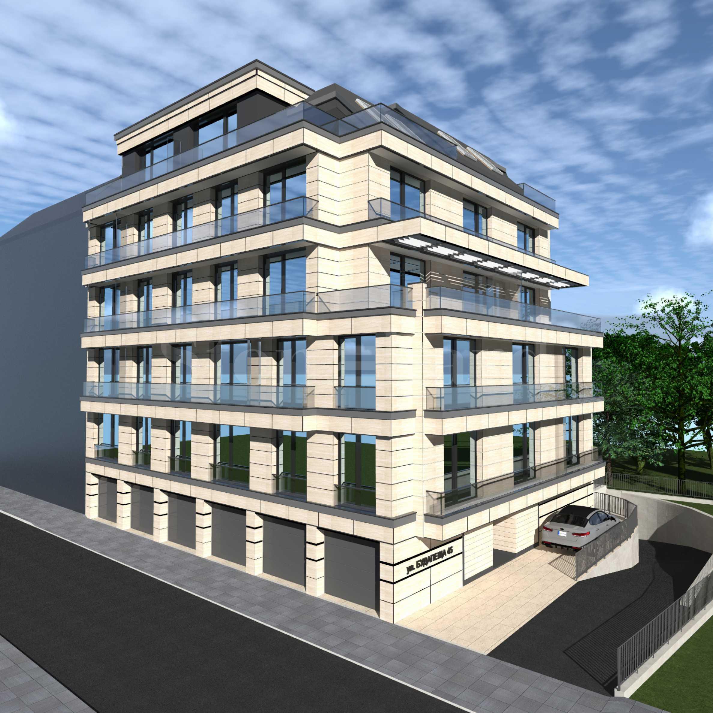 Многофамилна жилищна сграда с подземен гараж на комуникативна локация в центъра на София1 - Stonehard