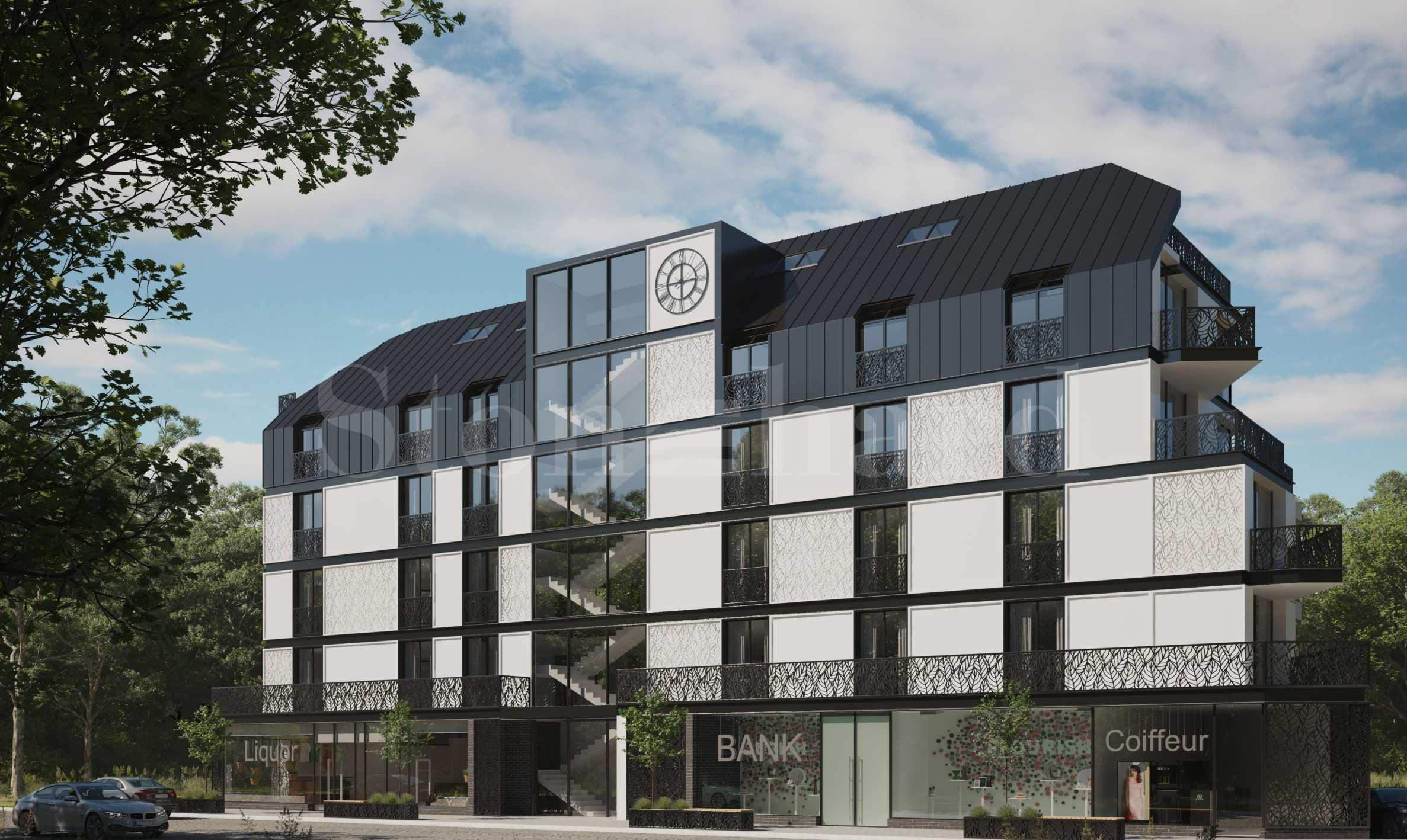 Жилищни и търговски имоти в модерна сграда в района на НБУ2 - Stonehard