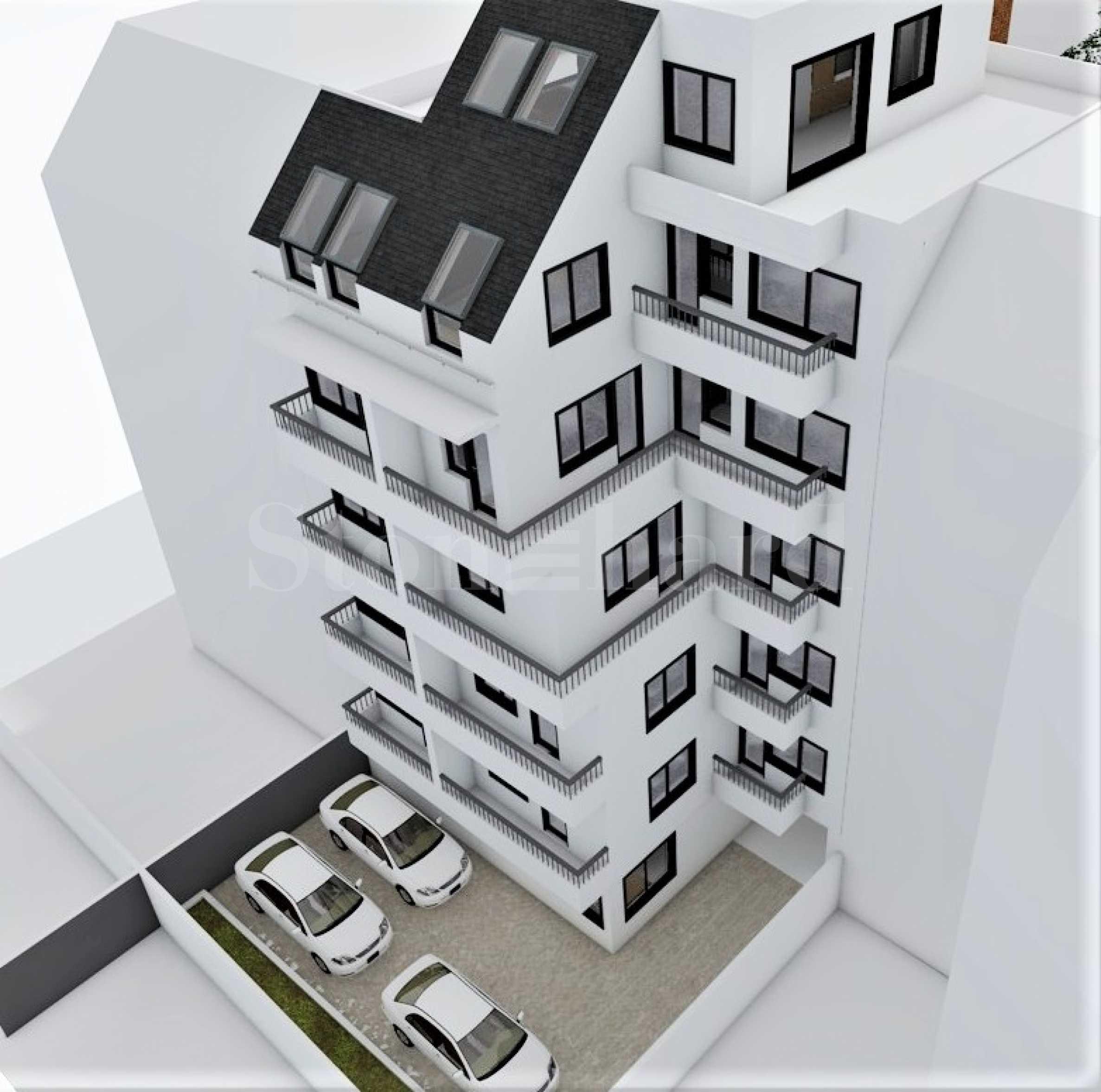 Апартаменти в нова жилищна сграда в кв. Лятно кино Тракия2 - Stonehard