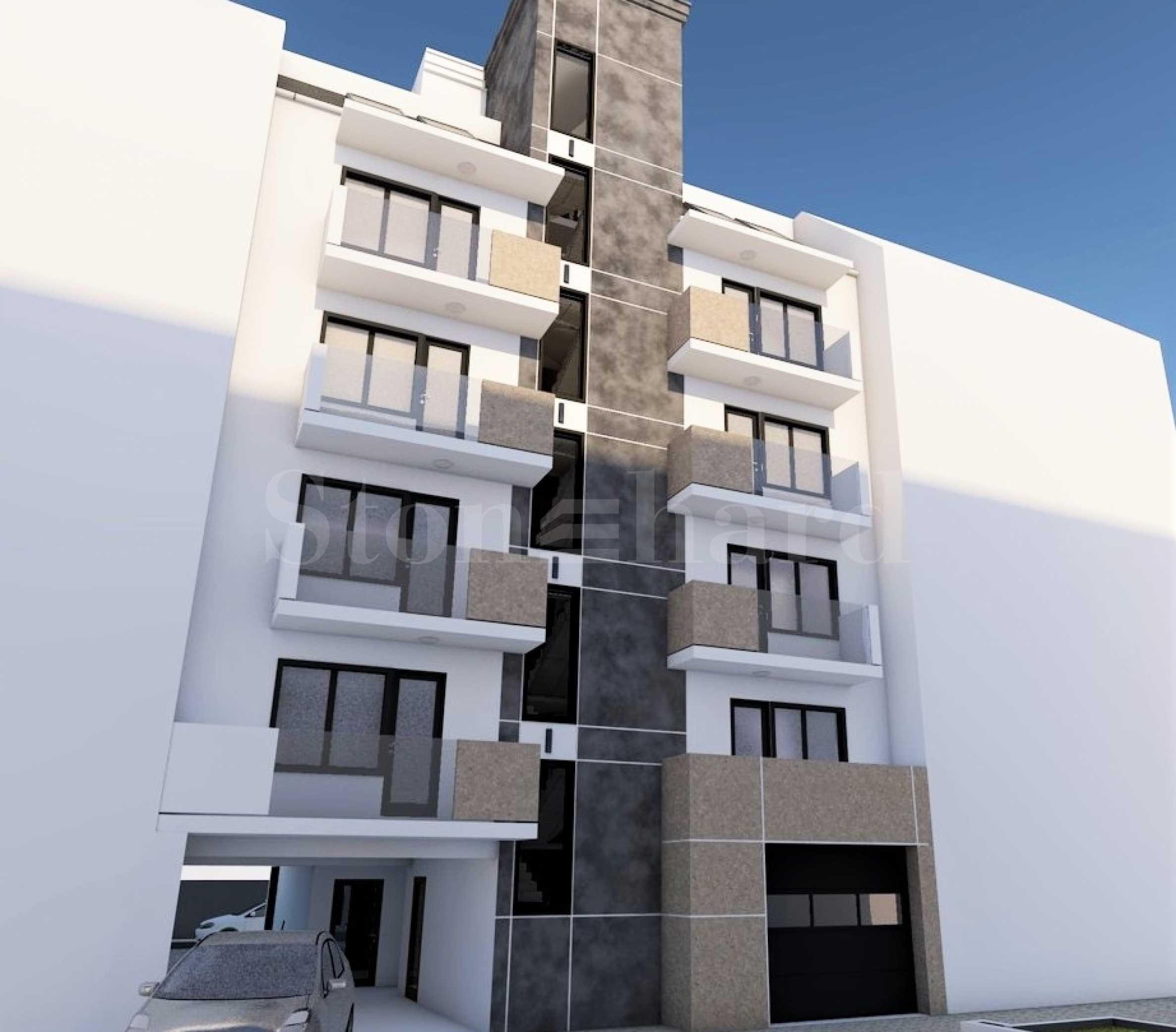 Апартаменти в нова жилищна сграда в кв. Лятно кино Тракия1 - Stonehard