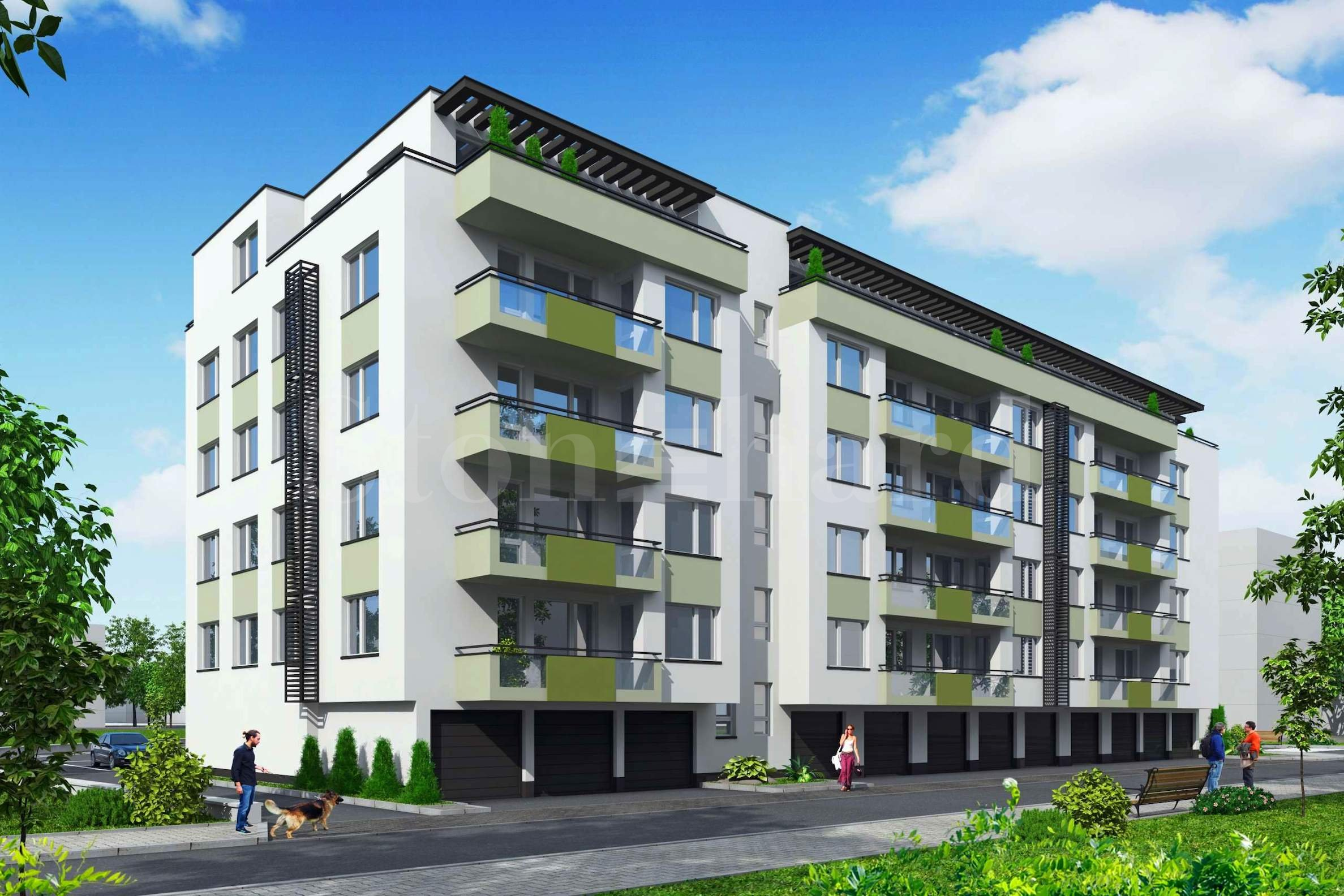 Предварителни продажби! Апартаменти ново строителство в бутиков комплекс, в кв. Христо Смирненски1 - Stonehard
