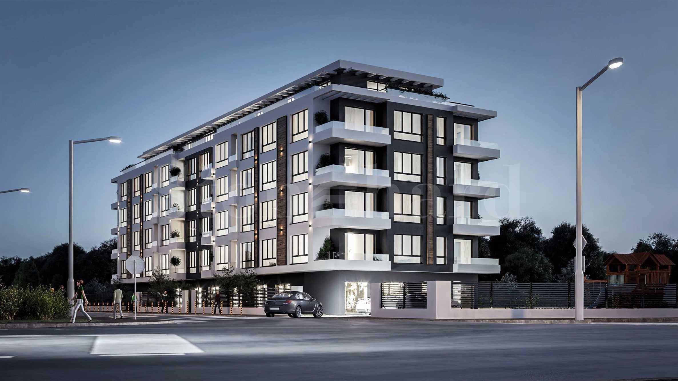 Апартаменти ново строителство в бутикова сграда до Ритейл парк1 - Stonehard