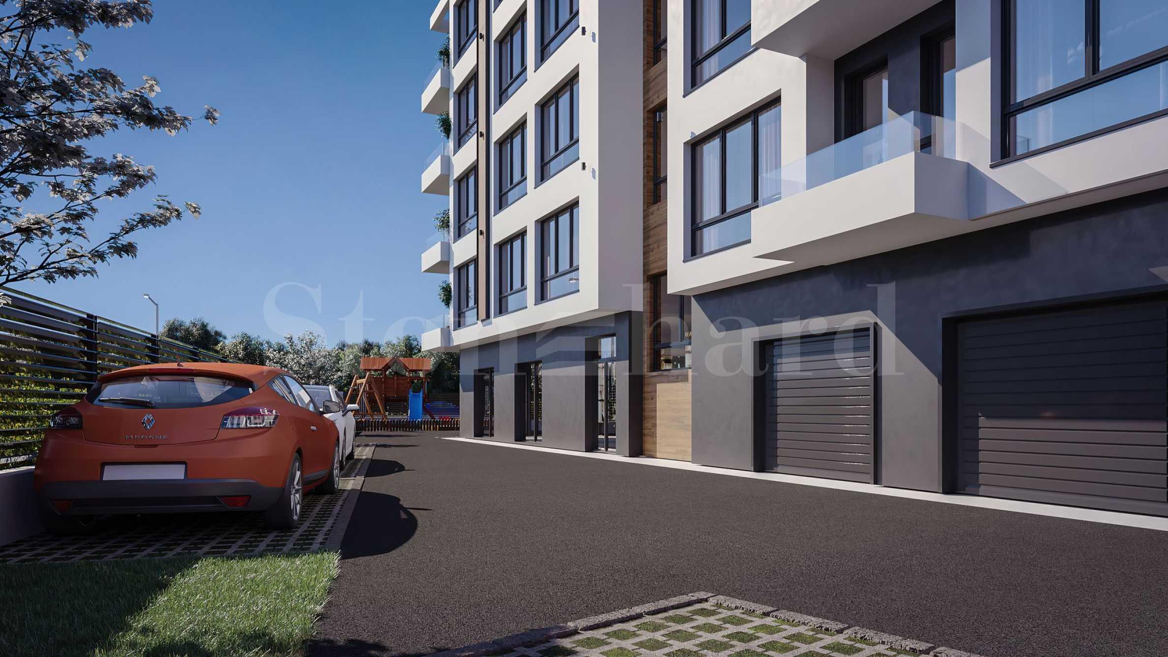 Апартаменти ново строителство в бутикова сграда до Ритейл парк2 - Stonehard