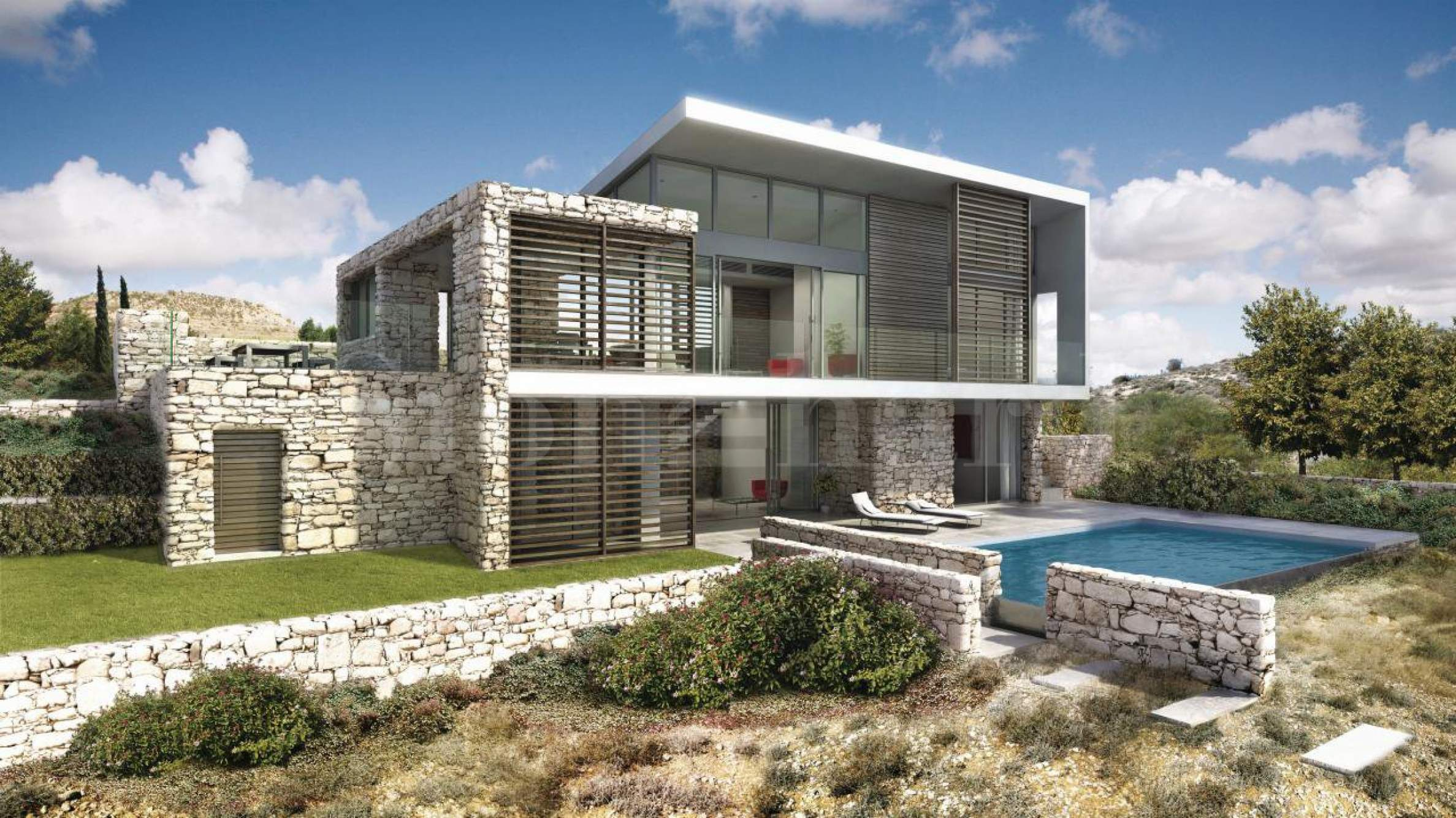 Individual Mediterranean villas in a golf resort2 - Stonehard