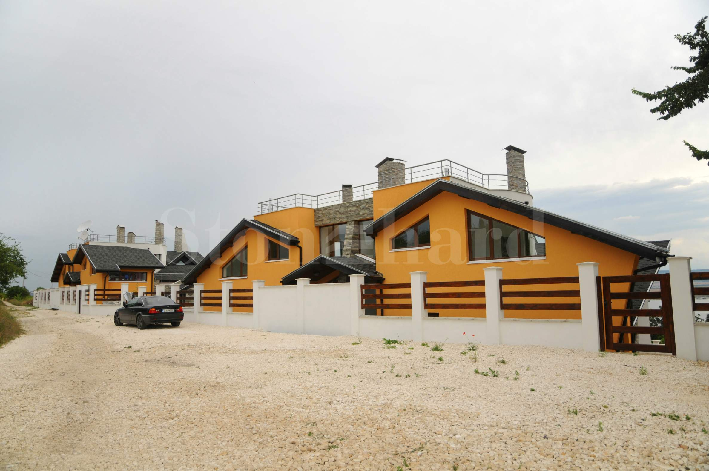 New duplex-villas on Varna lake2 - Stonehard