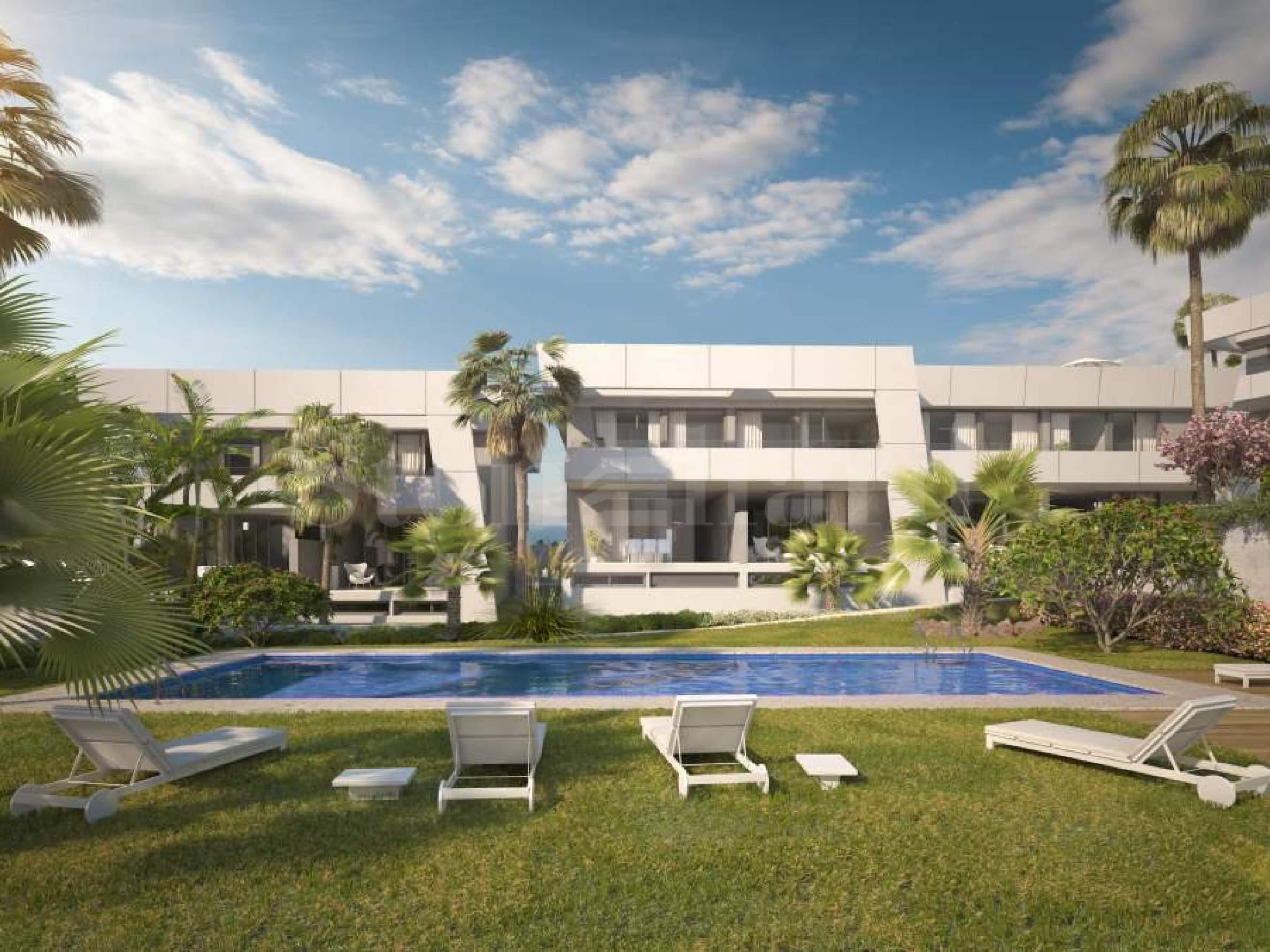 Townhouses with cutting edge design near Marbella1 - Stonehard