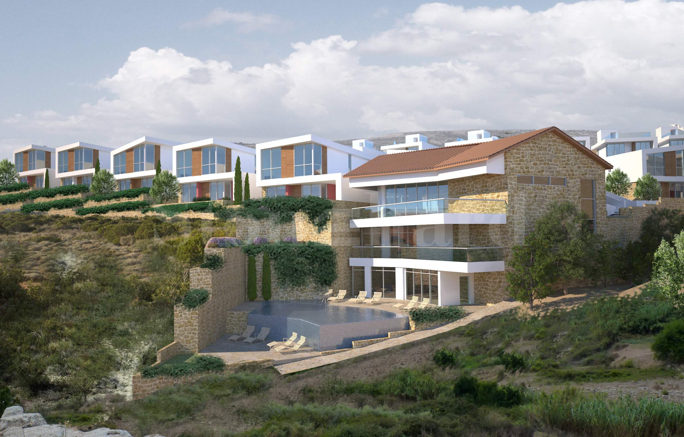 Exclusive villas with panoramic sea views1 - Stonehard