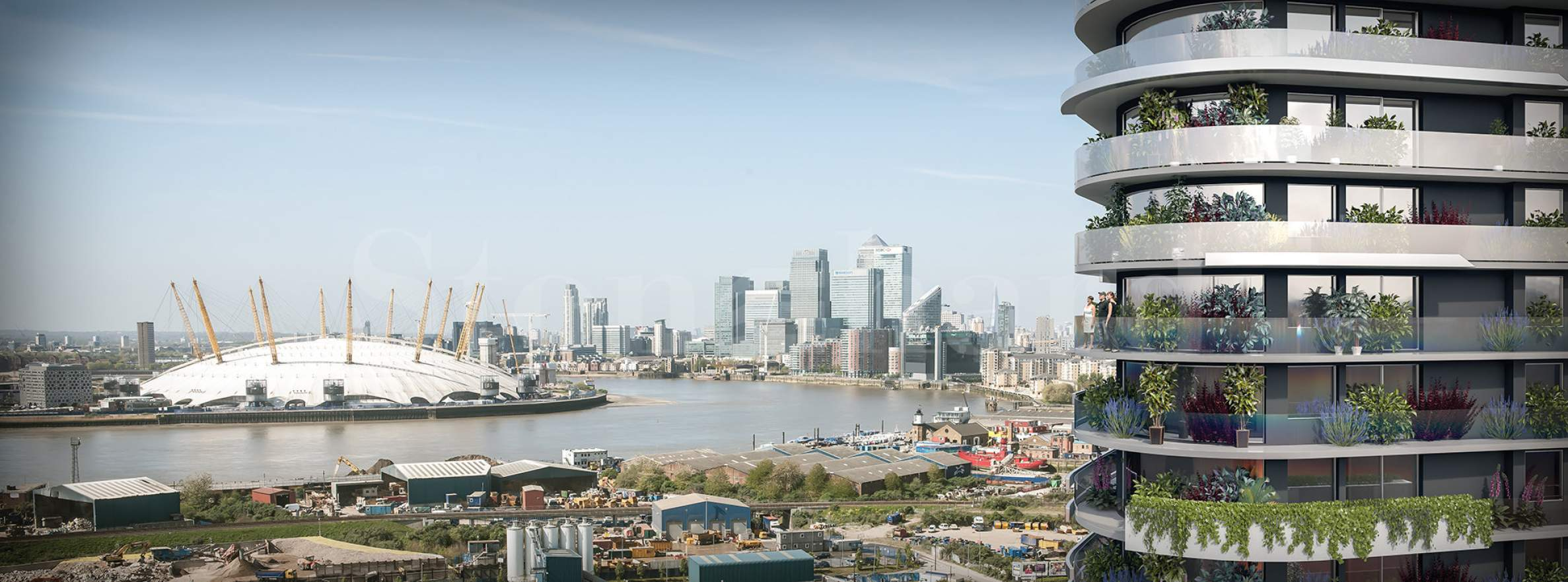 New residential tower near Royal Victoria Dock1 - Stonehard