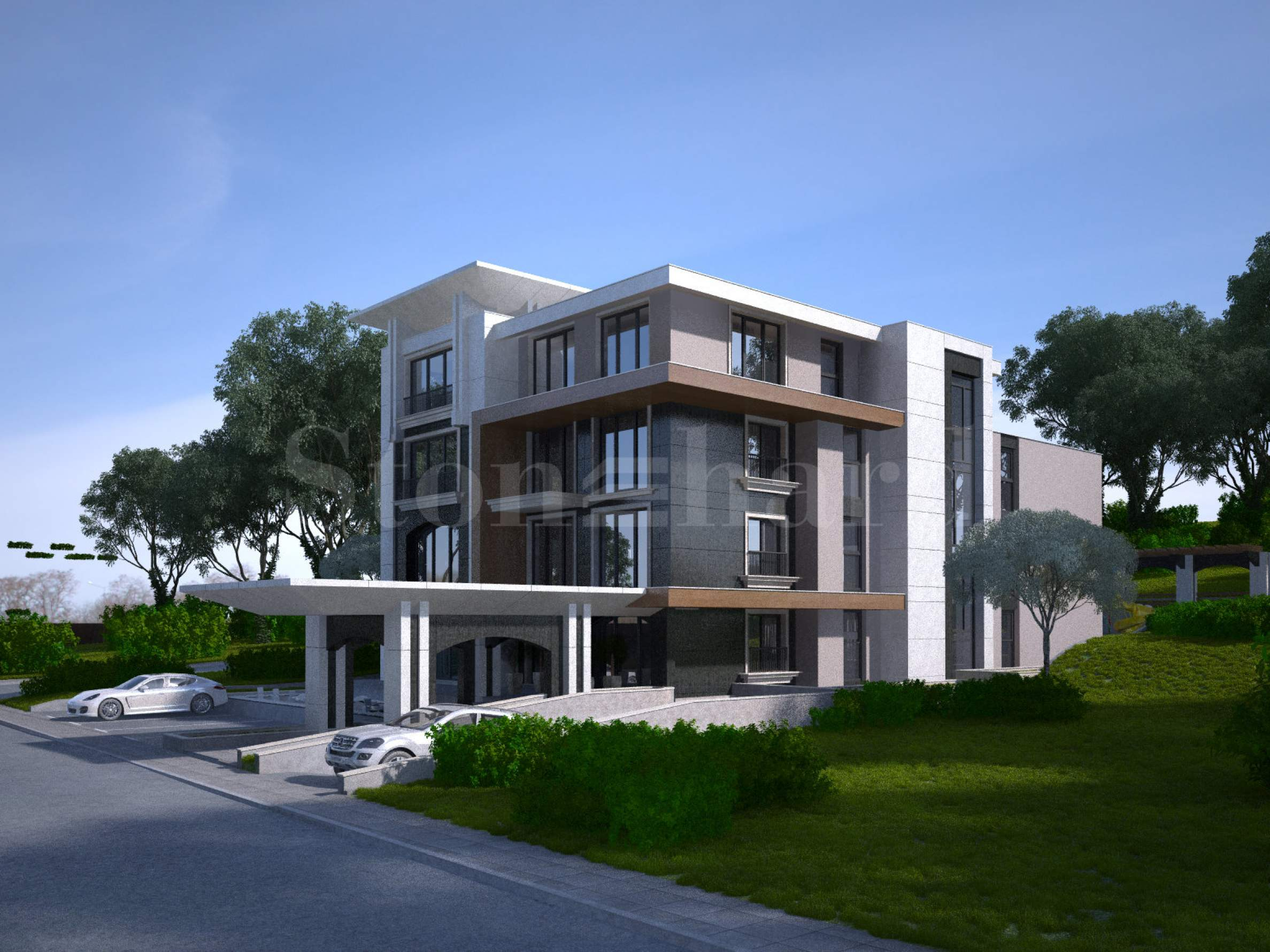 Super luxury residence near the South Park of Sofia1 - Stonehard