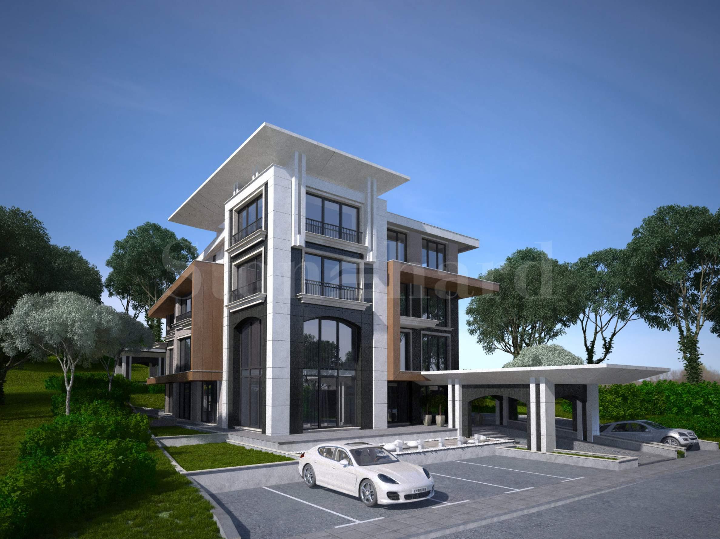 Престижна резиденция с големи апартаменти до Южен Парк2 - Stonehard
